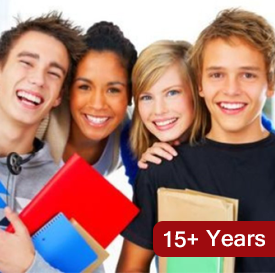 Ages 15+ Years