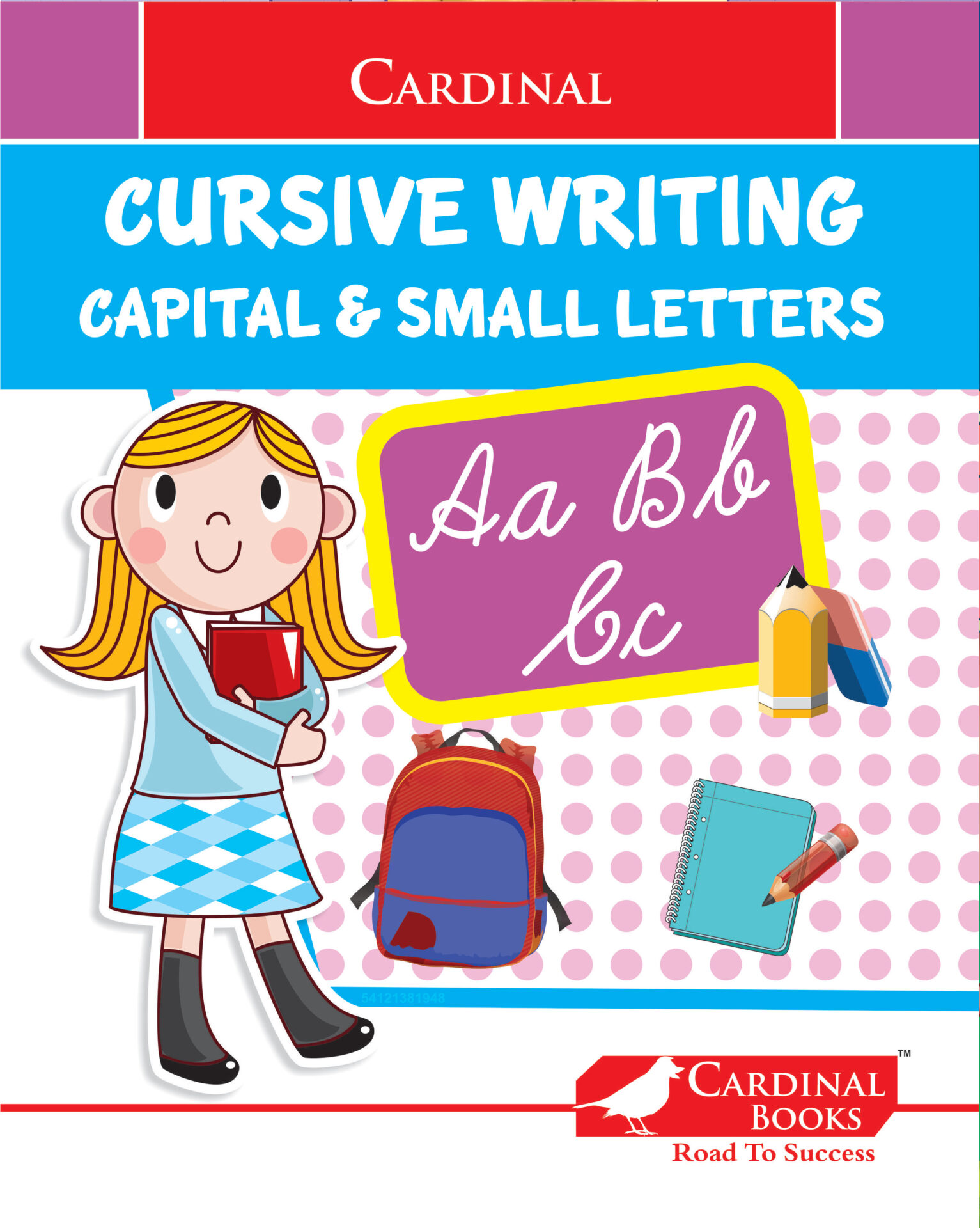 Cardinal Cursive Writing Capital and Small Letters 1 1
