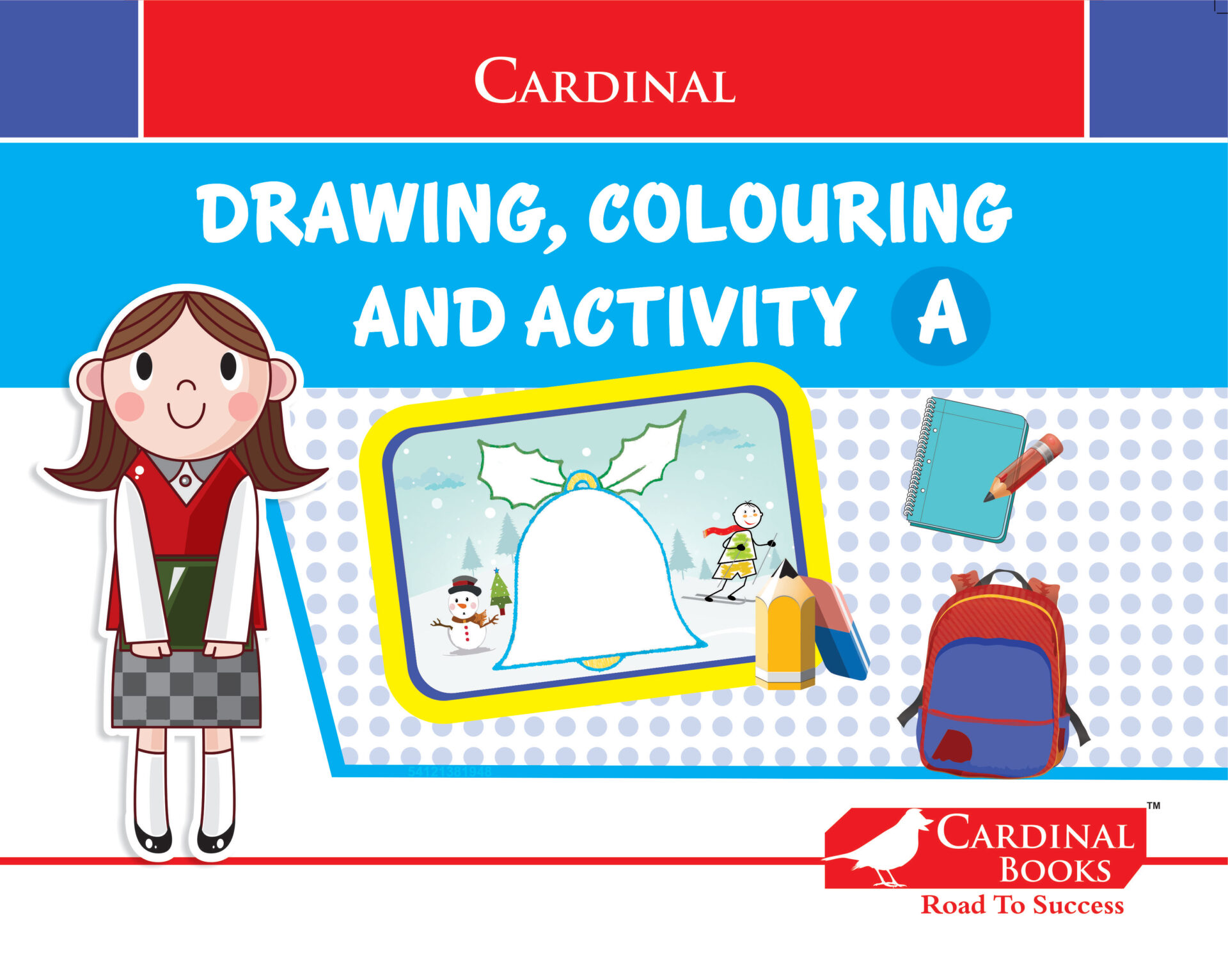 Cardinal Drawing Colouring and Activity A 1 1