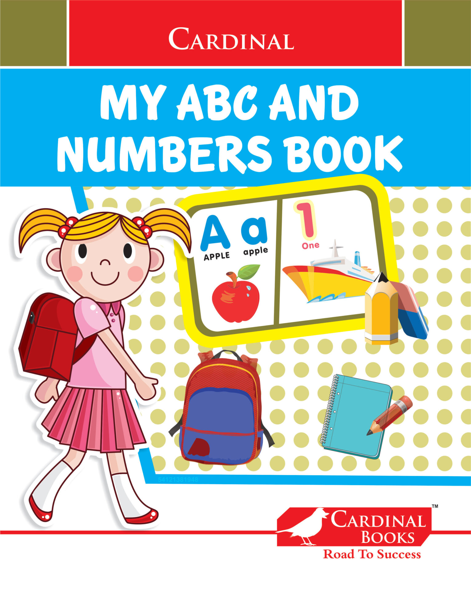 Cardinal My ABC and Numbers Book 1 1