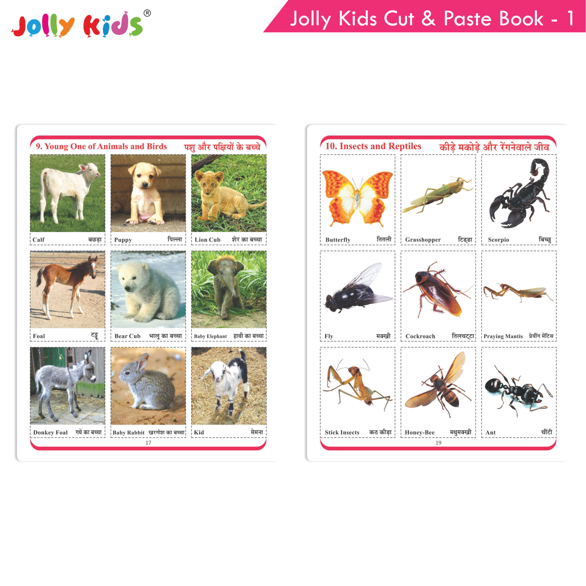 Jolly Kids Cut and Paste Book 1 7