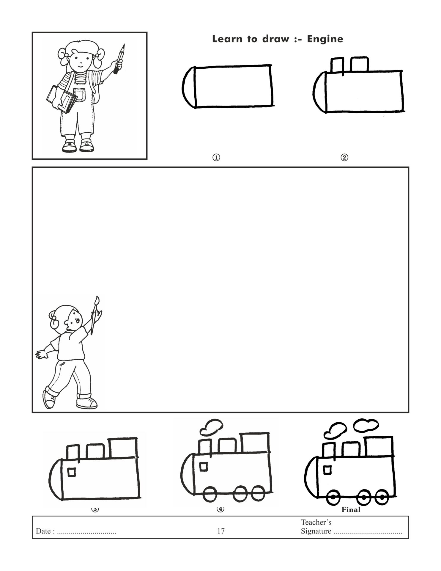 Jolly Kids Learn To Draw Book 1 7