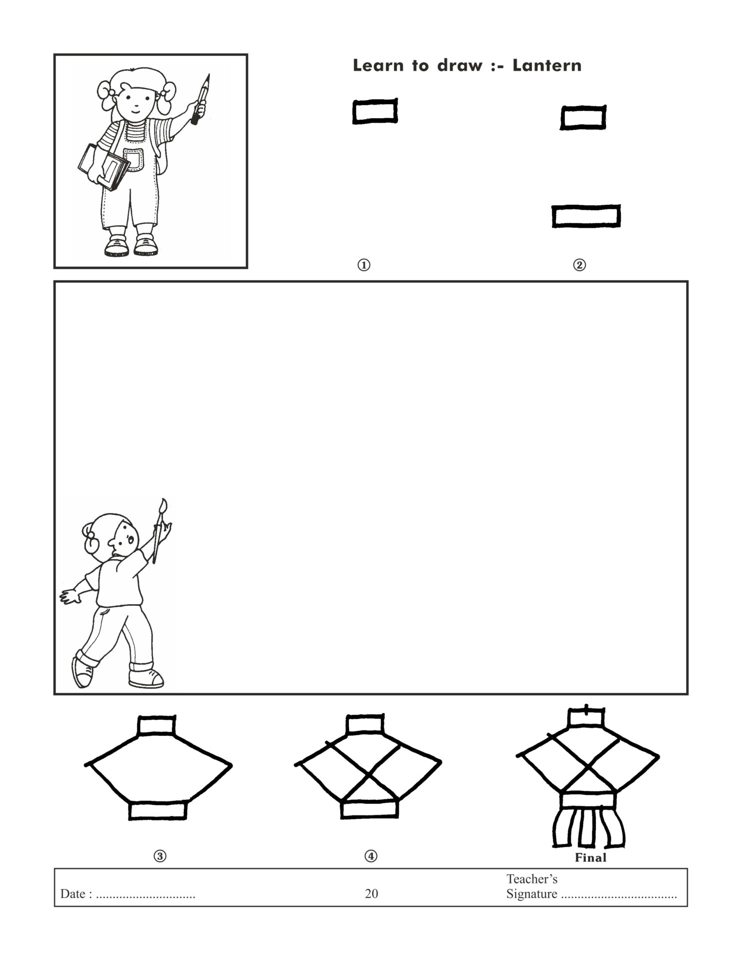 Jolly Kids Learn To Draw Book 1 8