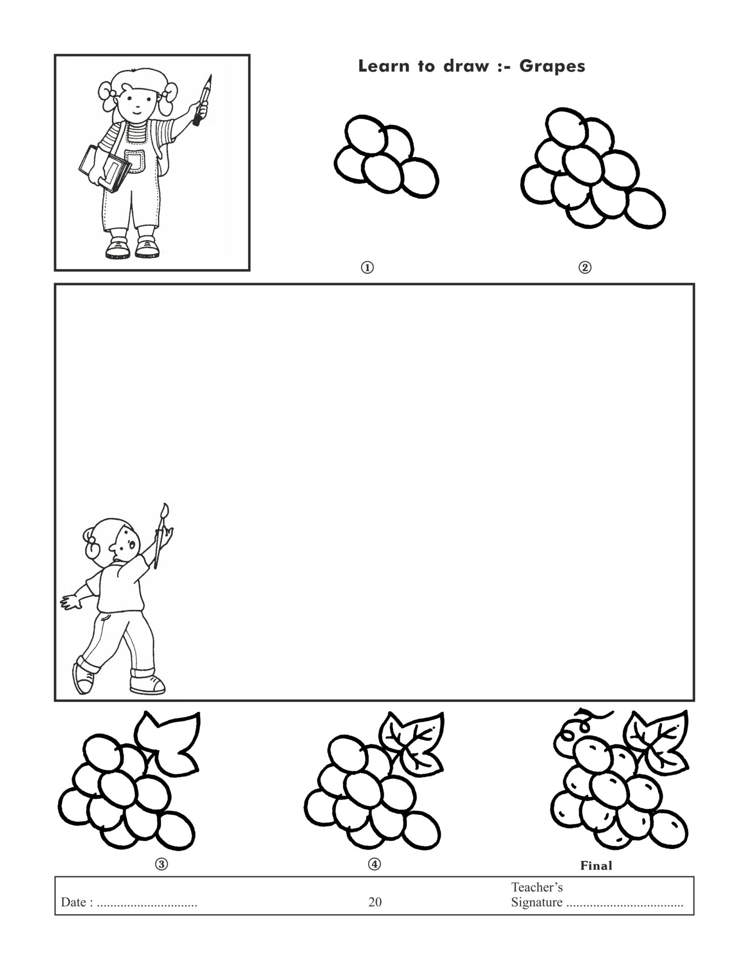 Jolly Kids Learn To Draw Book 4 7