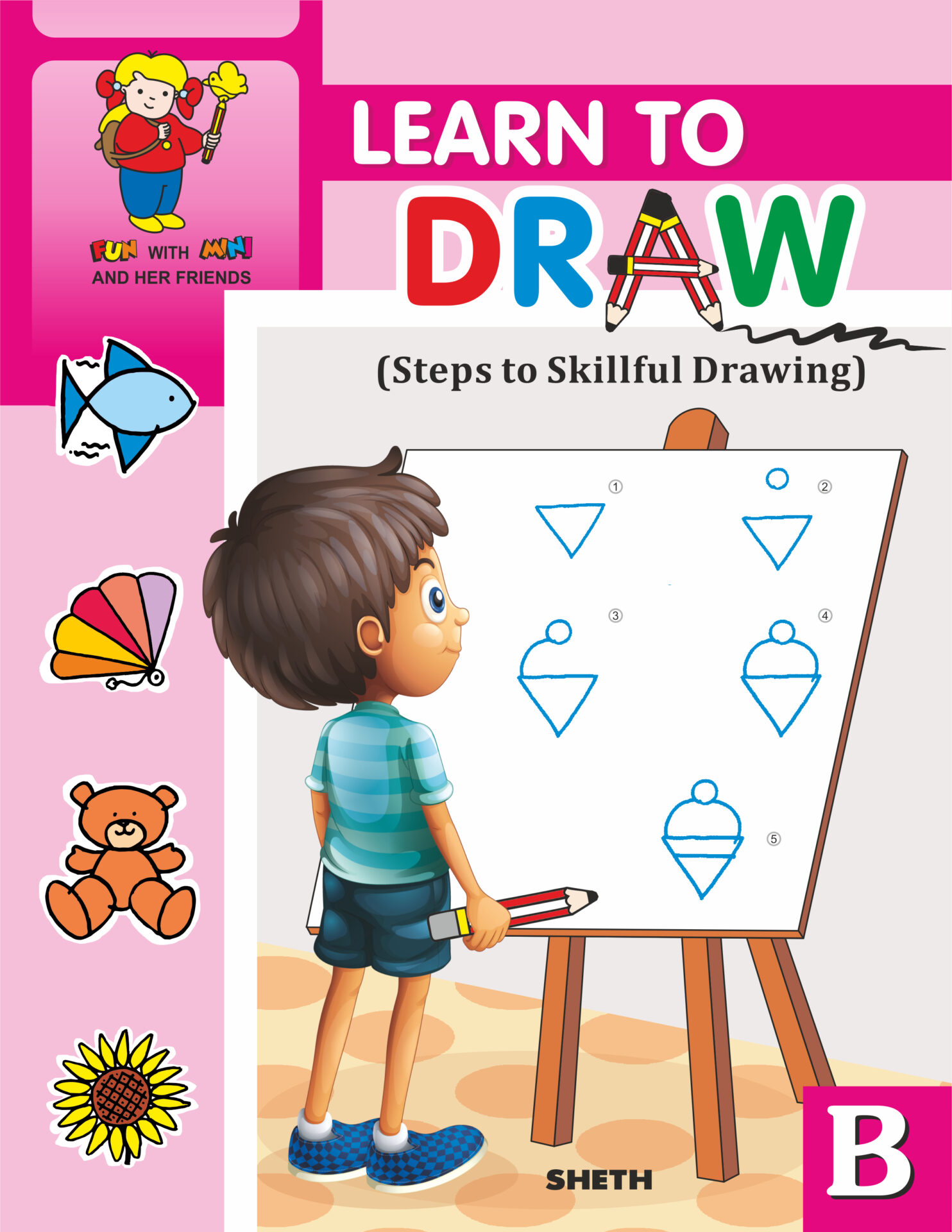 Jolly Kids Learn To Draw Book B 1