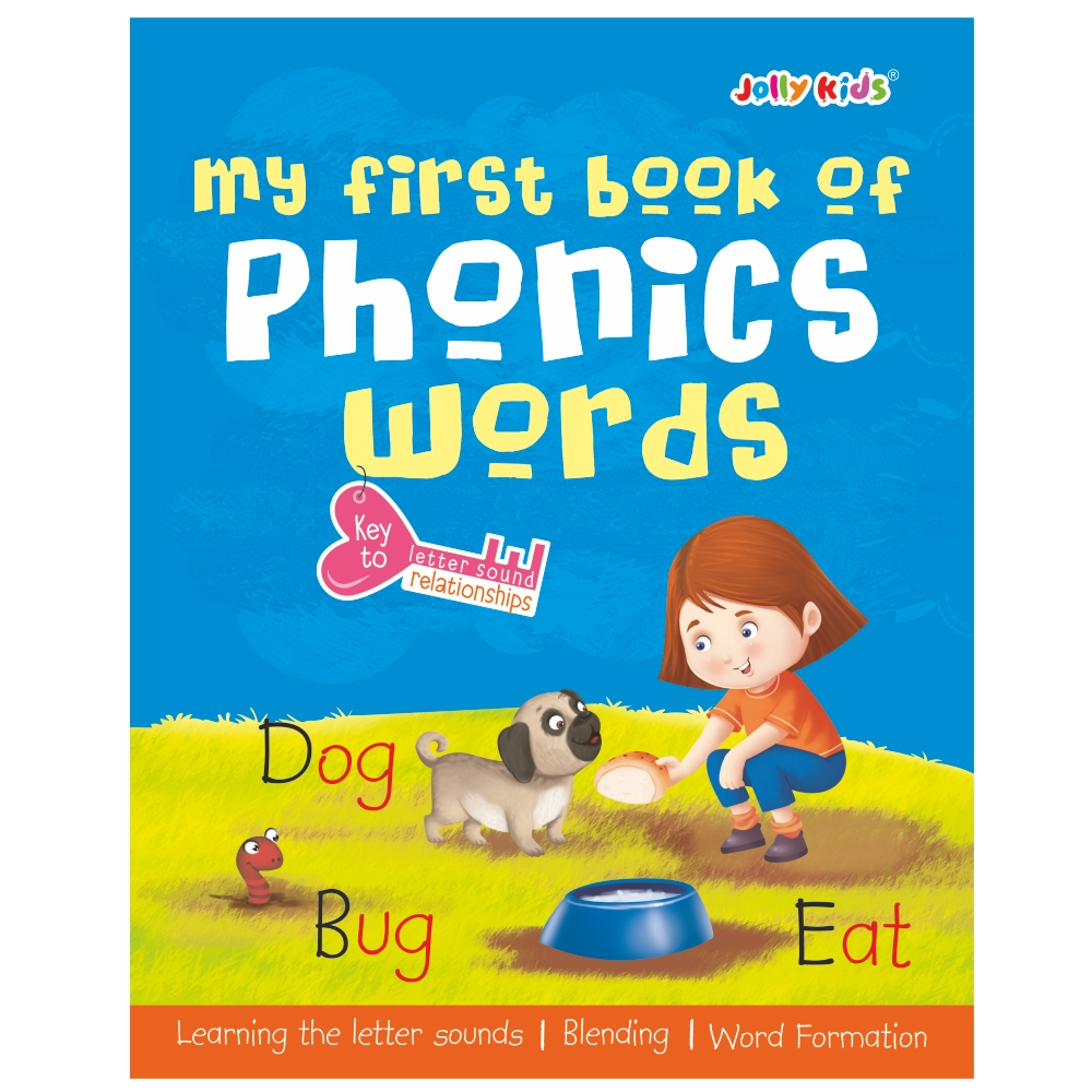 Jolly Kids My First Book of Phonics Words 1