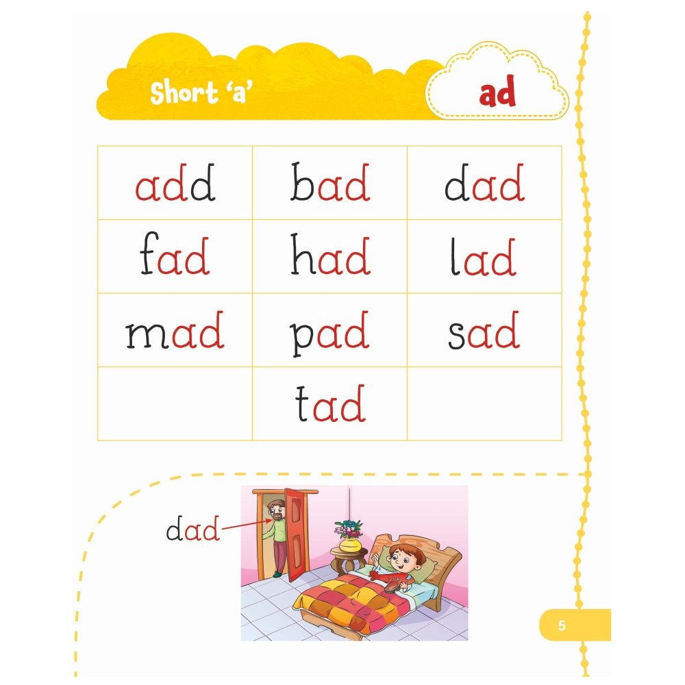 Jolly Kids My First Book of Phonics Words 3
