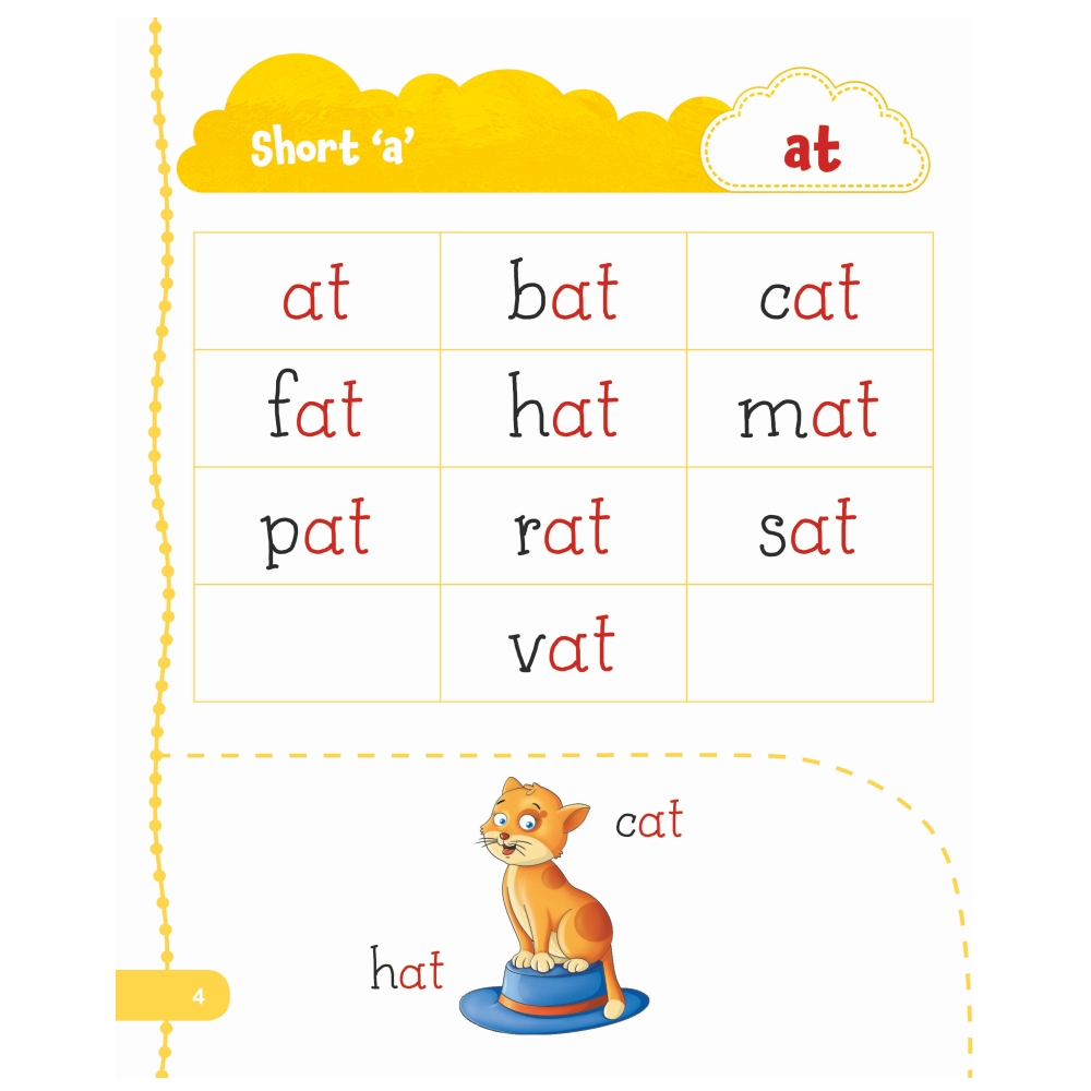 Jolly Kids My First Book of Phonics Words 4