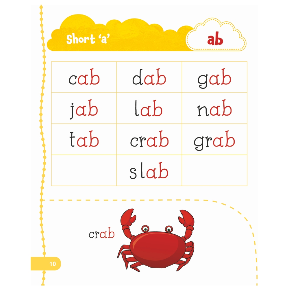 Jolly Kids My First Book of Phonics Words 5