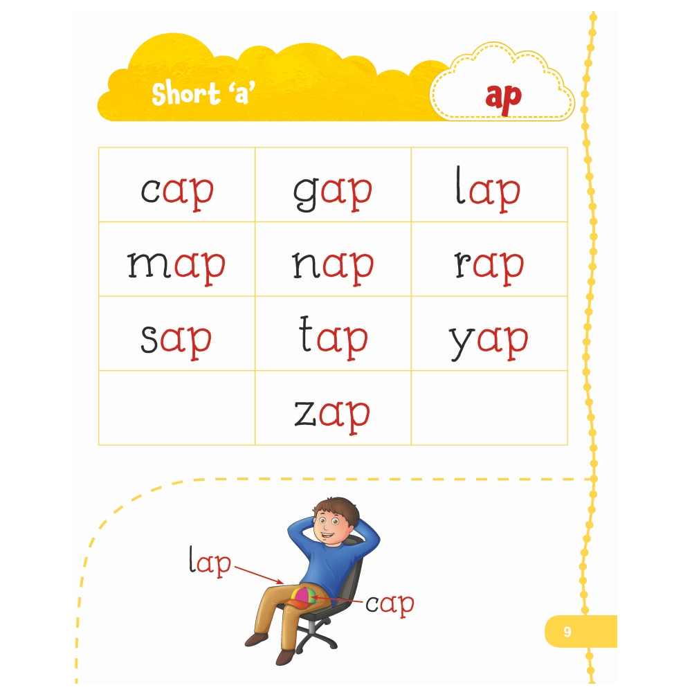 Jolly Kids My First Book of Phonics Words 6