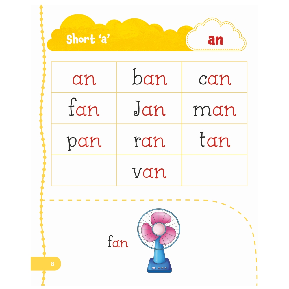 Jolly Kids My First Book of Phonics Words 7