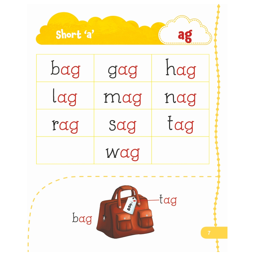 Jolly Kids My First Book of Phonics Words 8