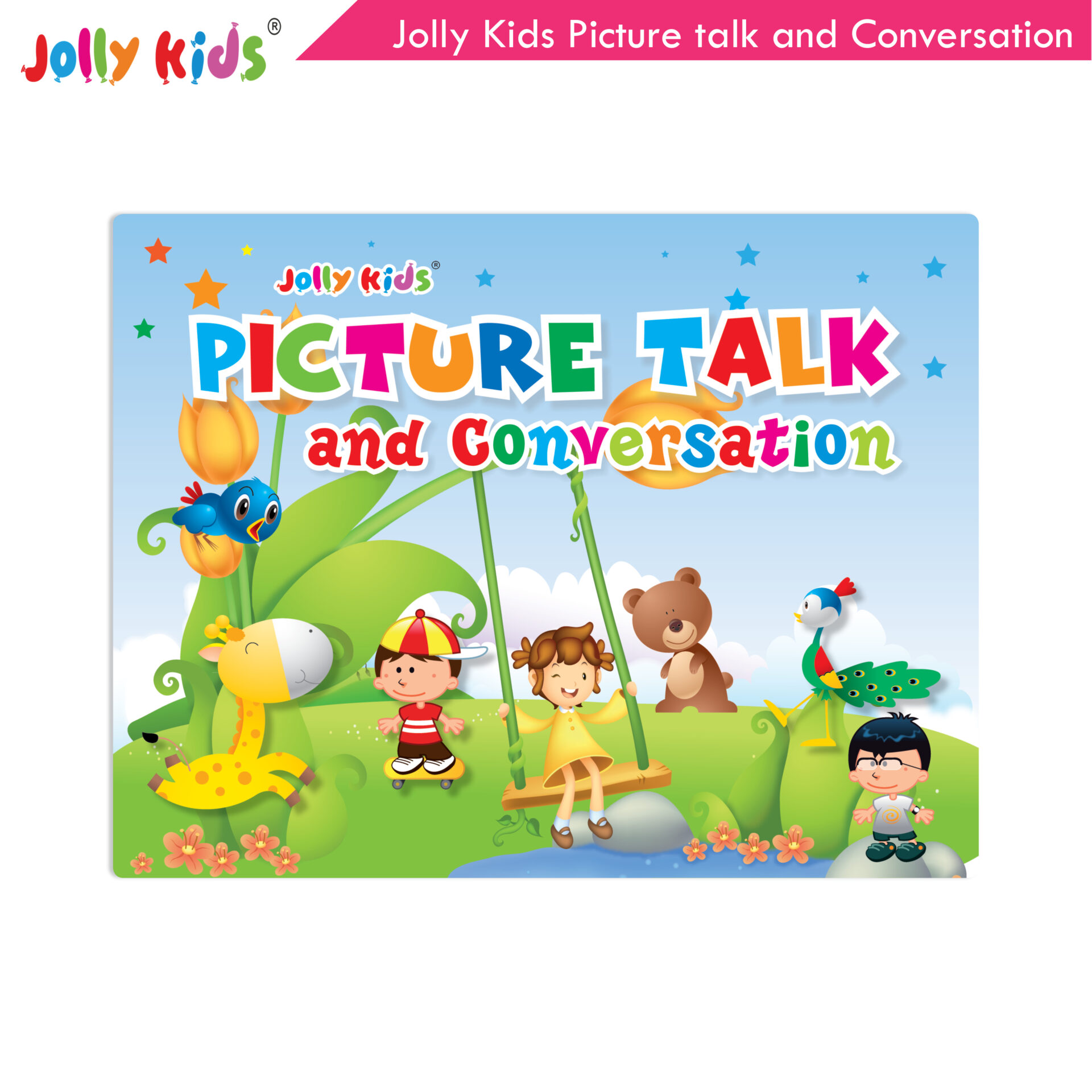 Jolly Kids Picture talk and conversation  1