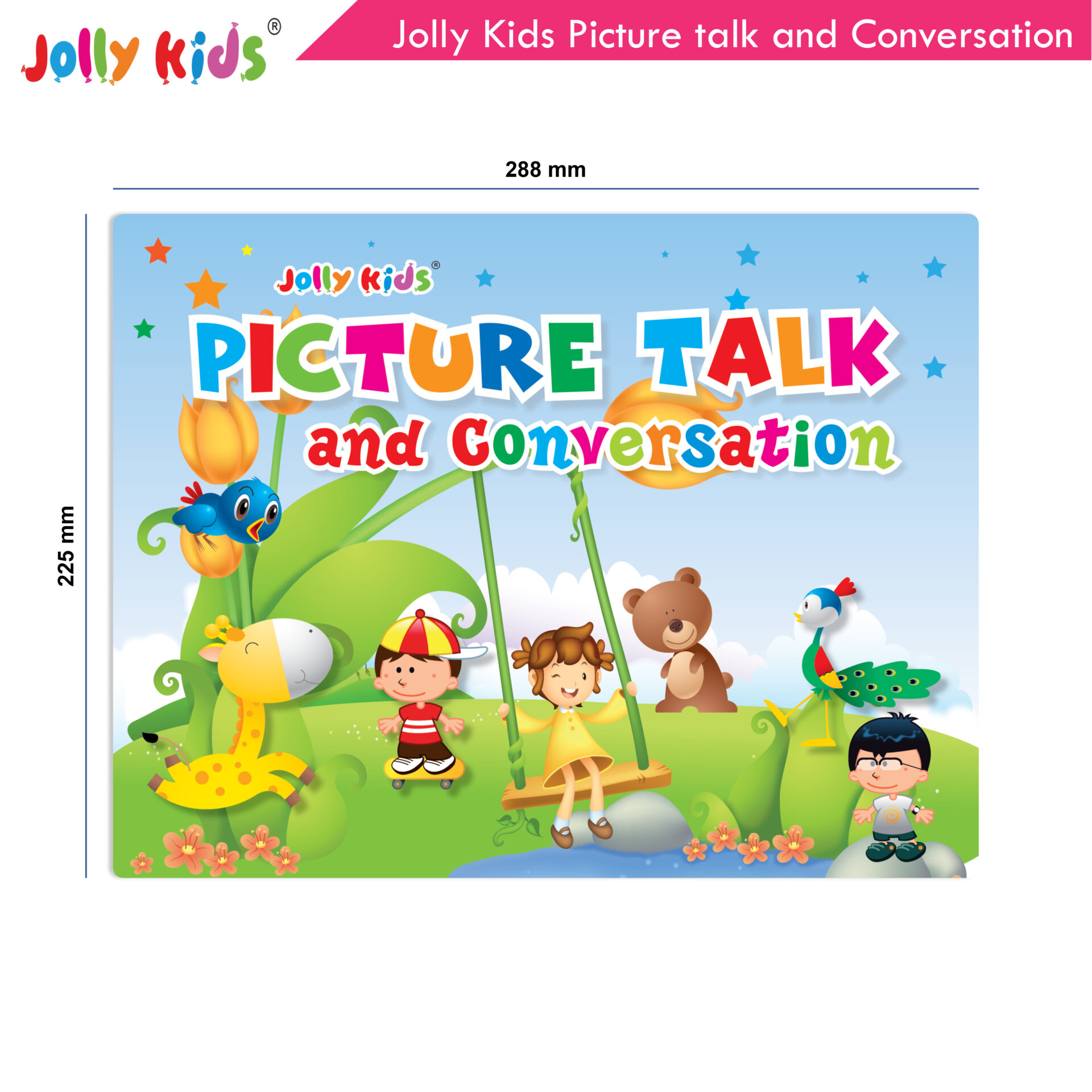 Jolly Kids Picture talk and conversation  2