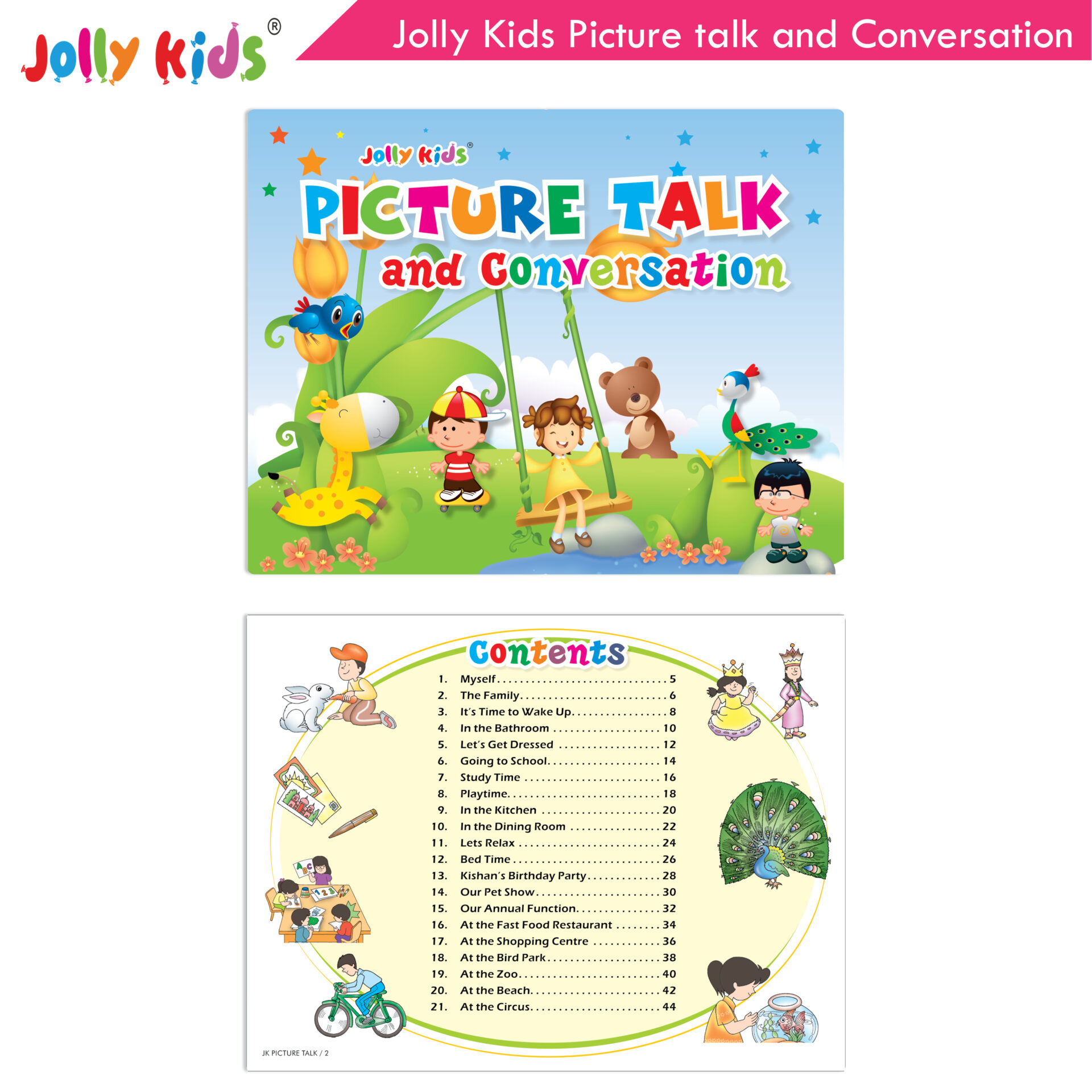 Jolly Kids Picture talk and conversation  3