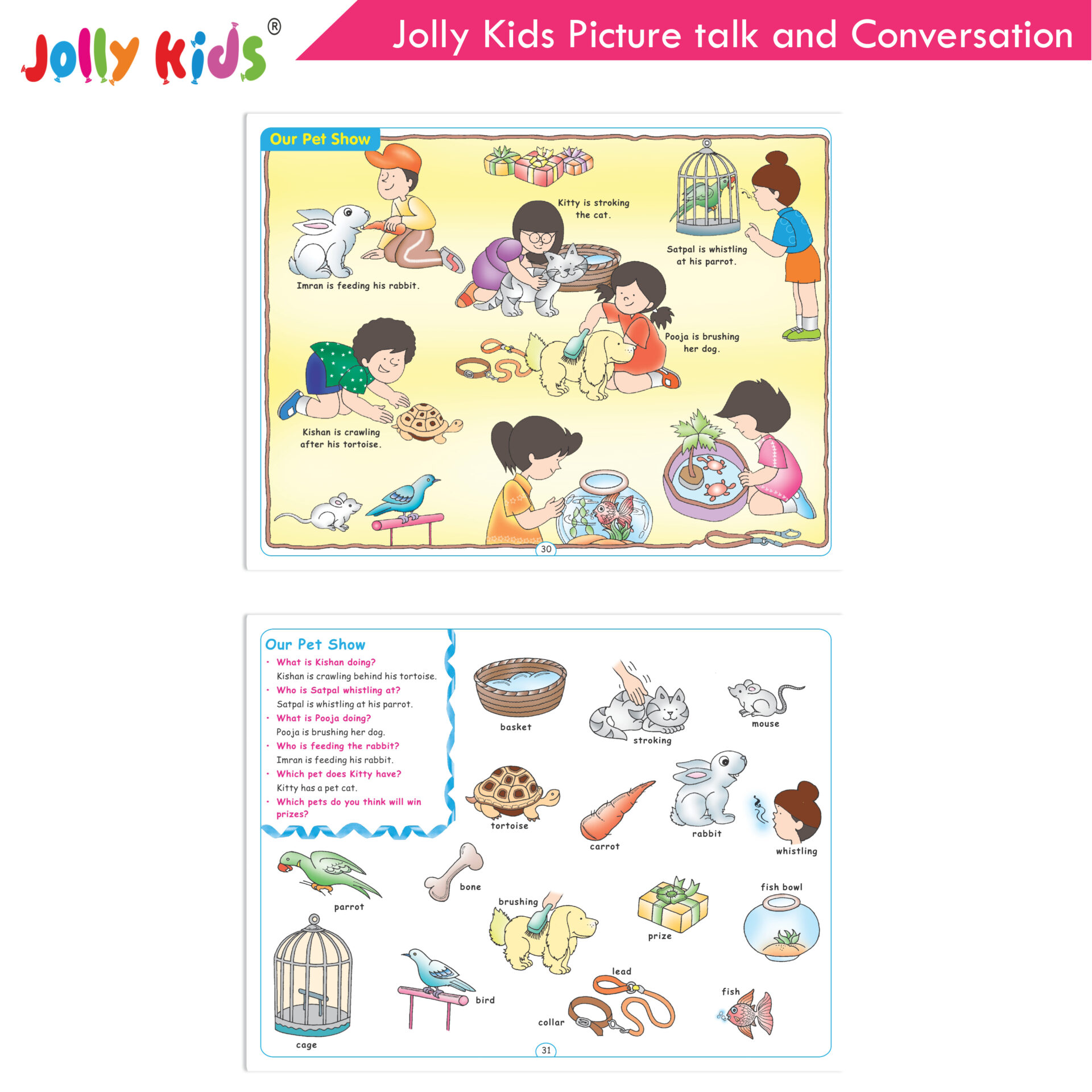 Jolly Kids Picture talk and conversation  5