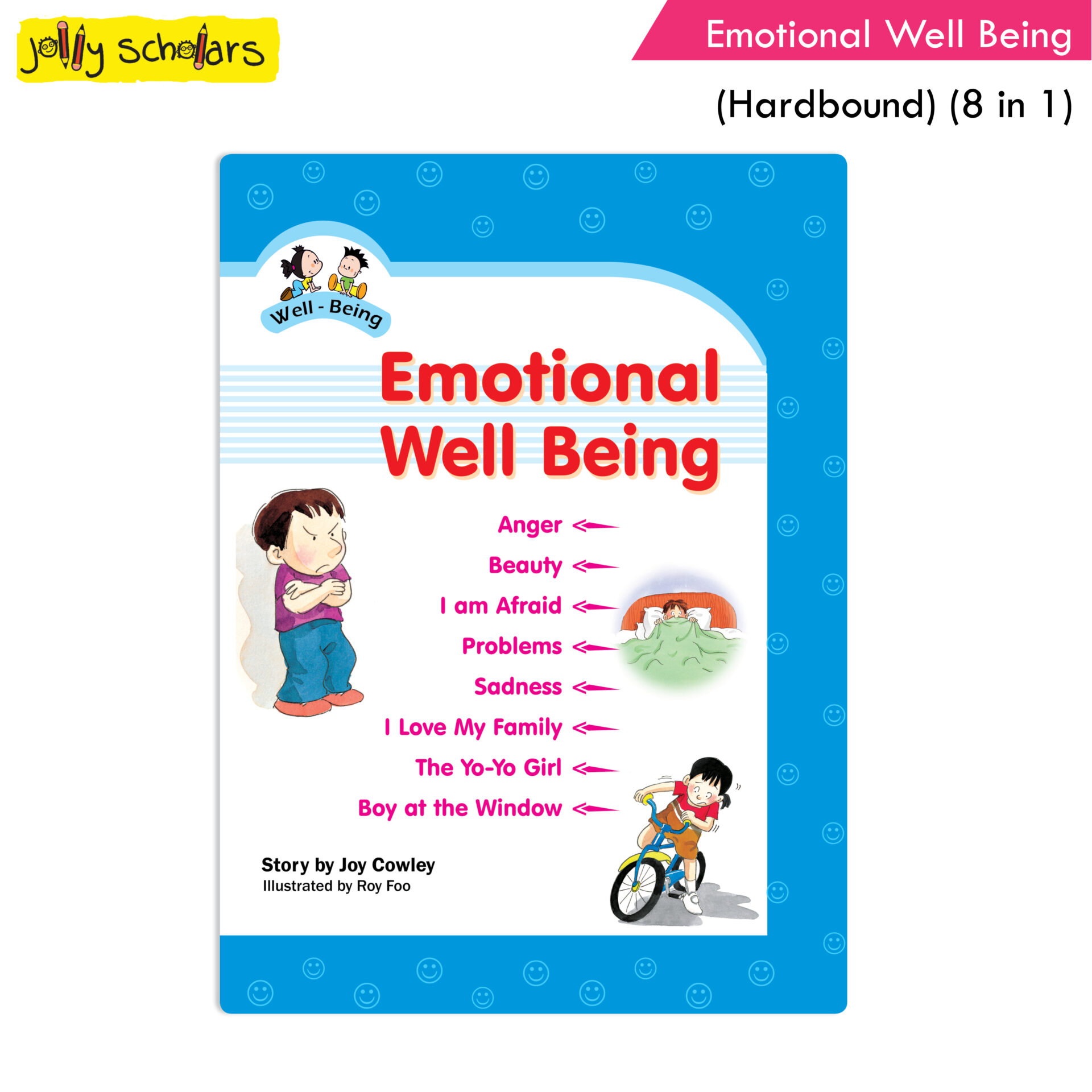 Jolly Scholars Emotional Well Being Hard Bound 8 in 1 1