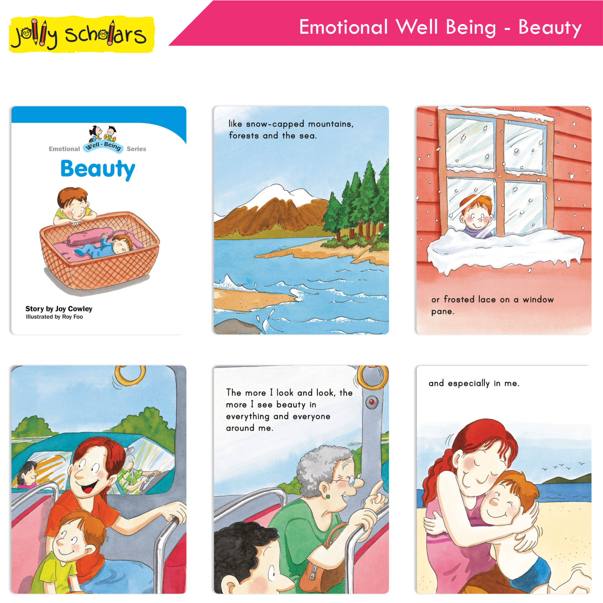 Jolly Scholars Emotional Well Being Series Set of 8 3