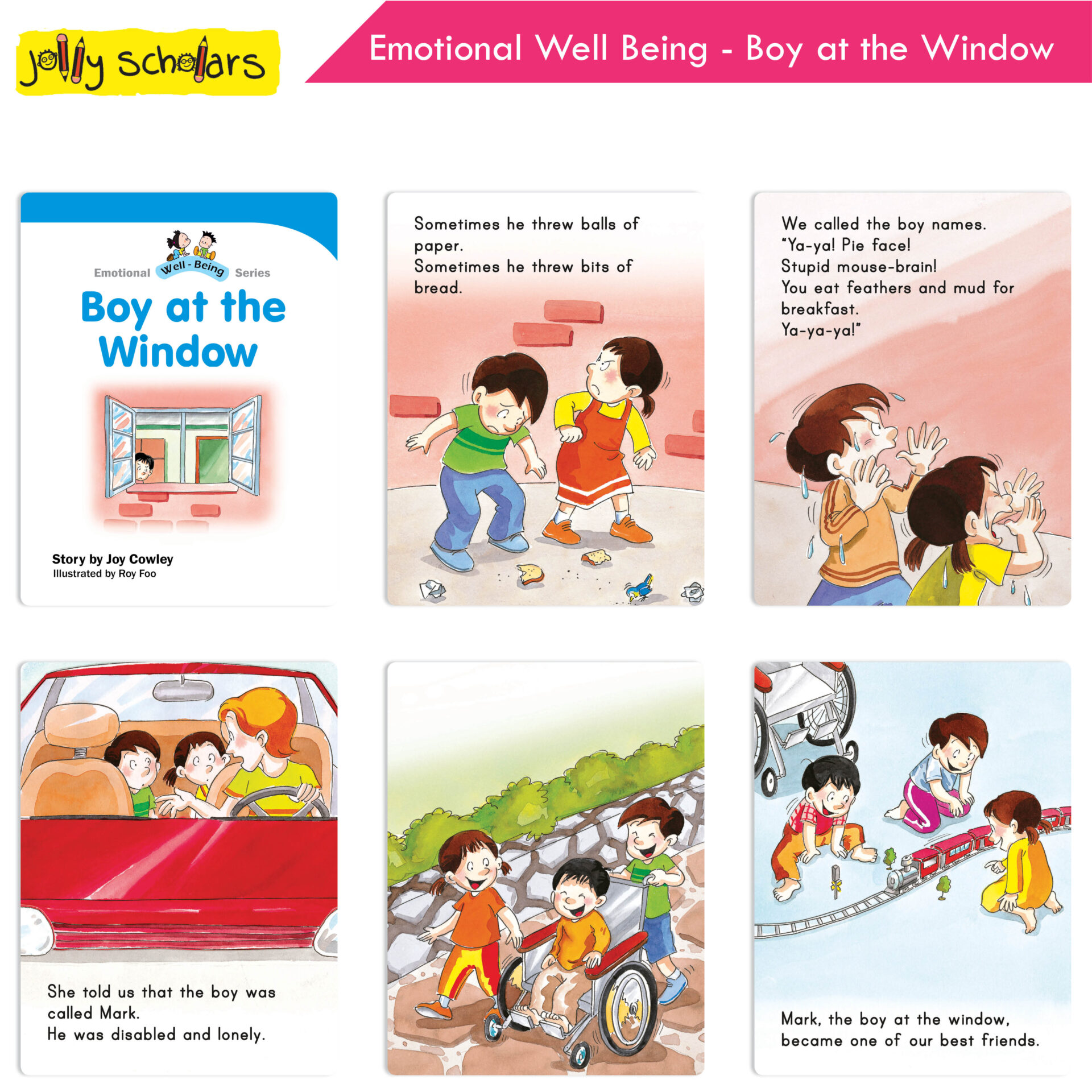 Jolly Scholars Emotional Well Being Series Set of 8 4