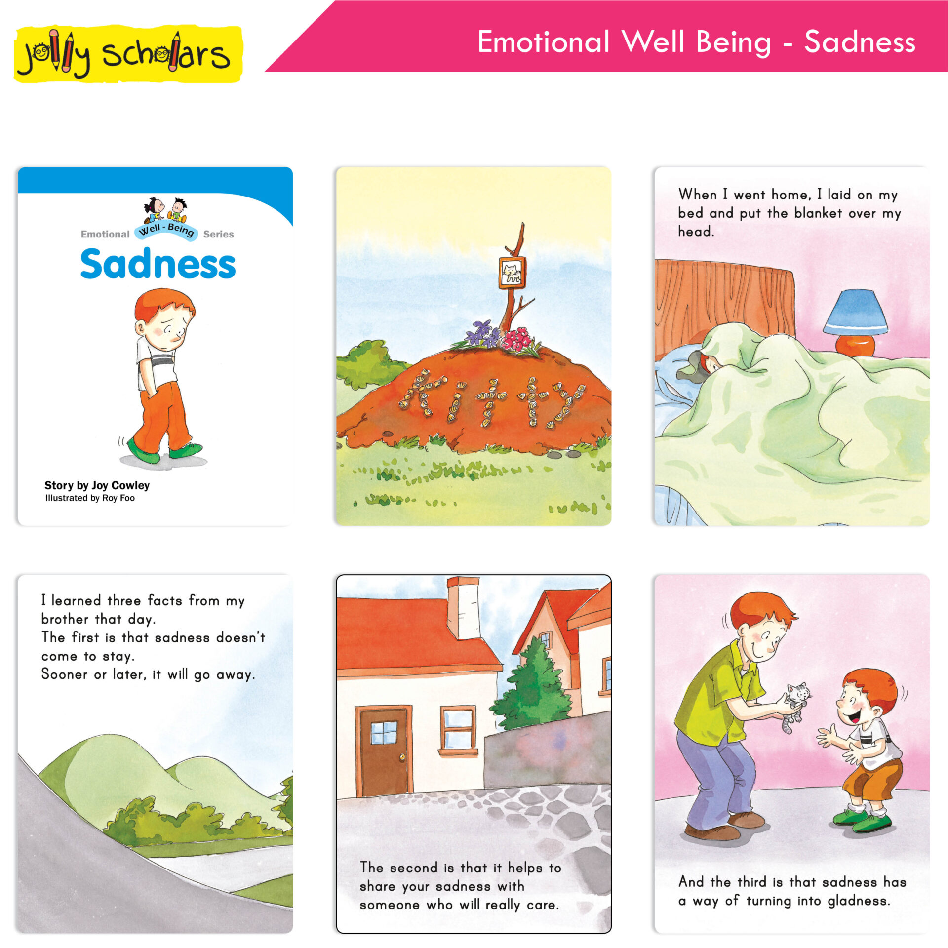 Jolly Scholars Emotional Well Being Series Set of 8 8
