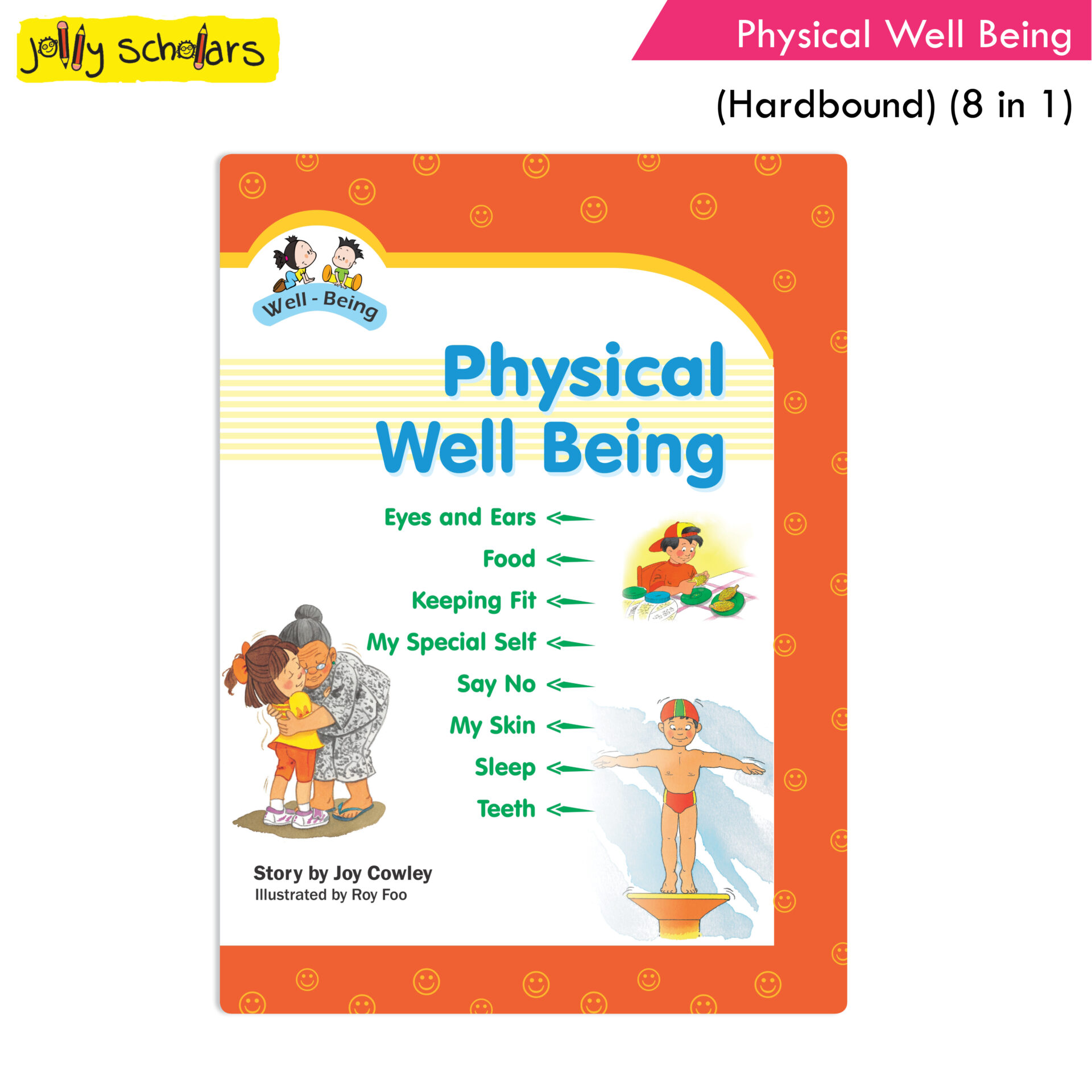 Jolly Scholars Physical Well Being Hard Bound 8 in 1 1
