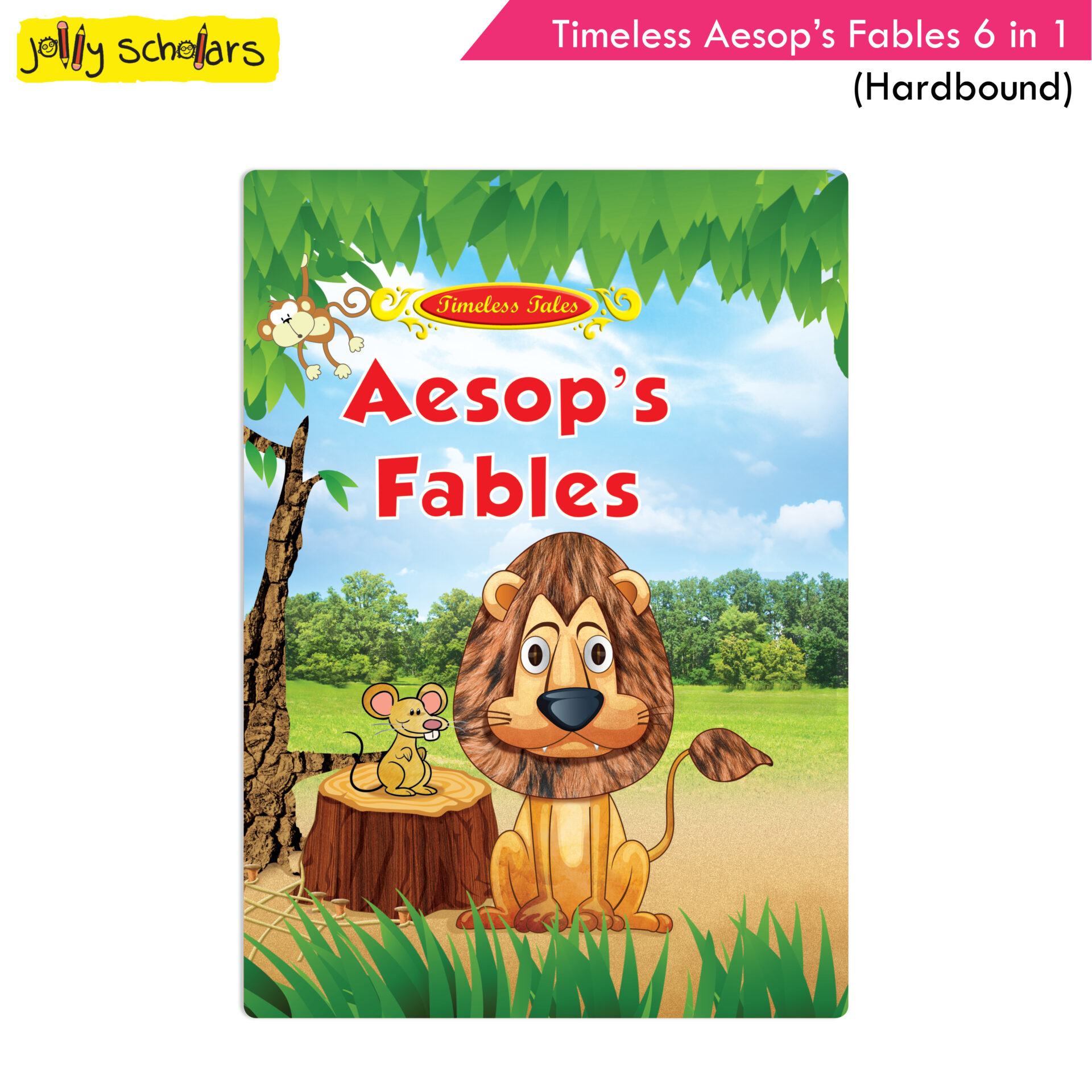 Jolly Scholars Timeless Aesops Fables 6 in 1 Hardbound 1