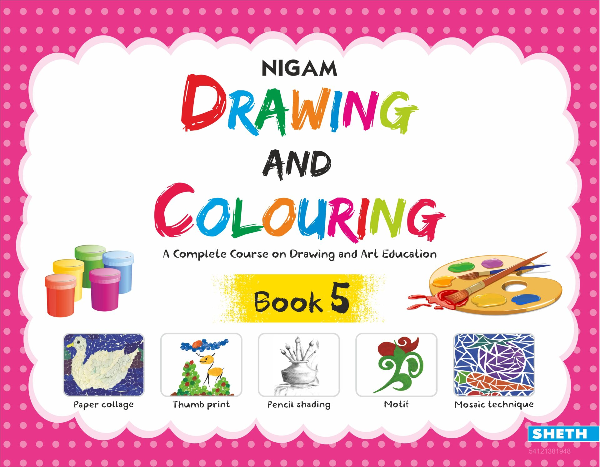 NIgam Drawing and Colouring Book 5 1