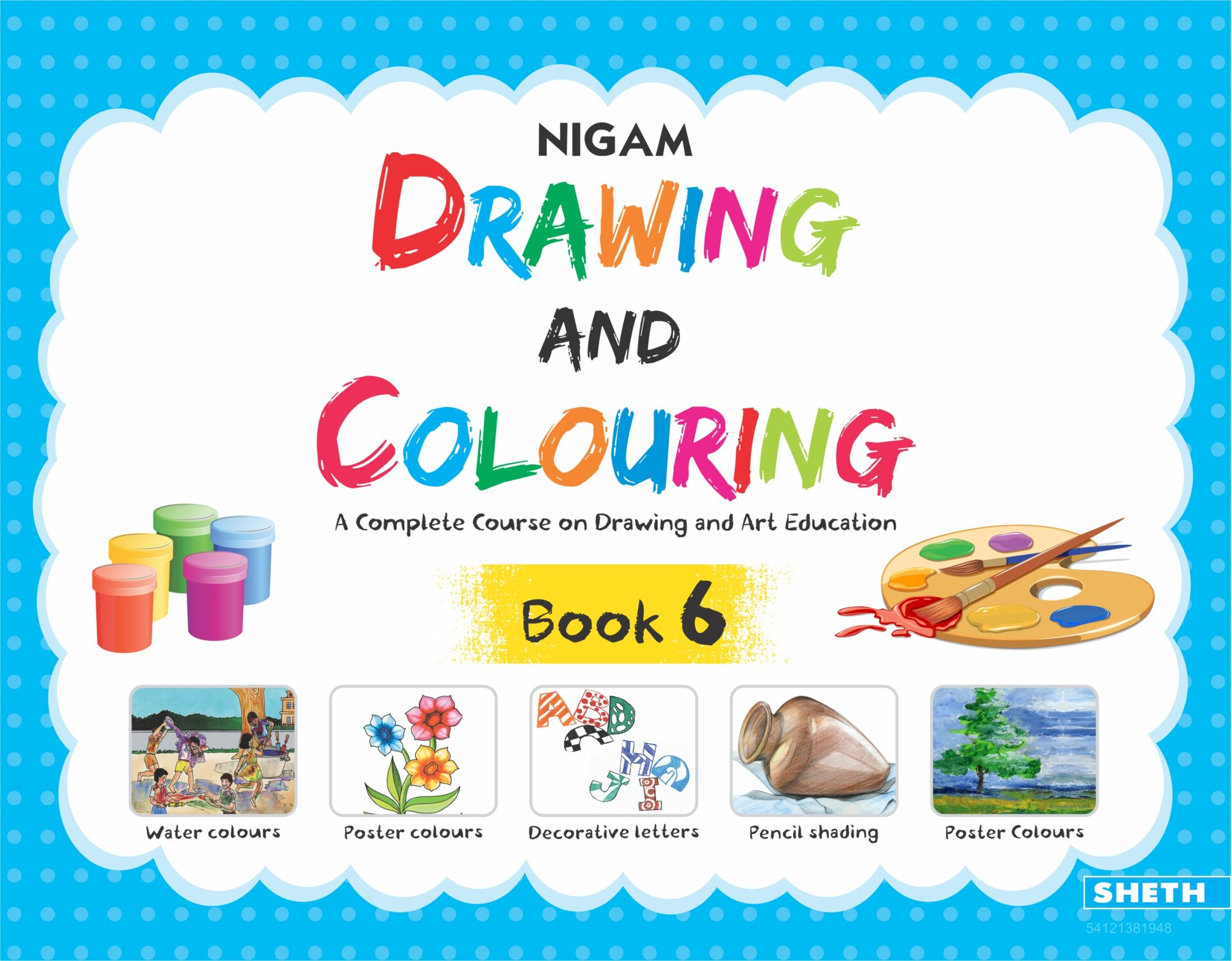 NIgam Drawing and Colouring Book 6 1