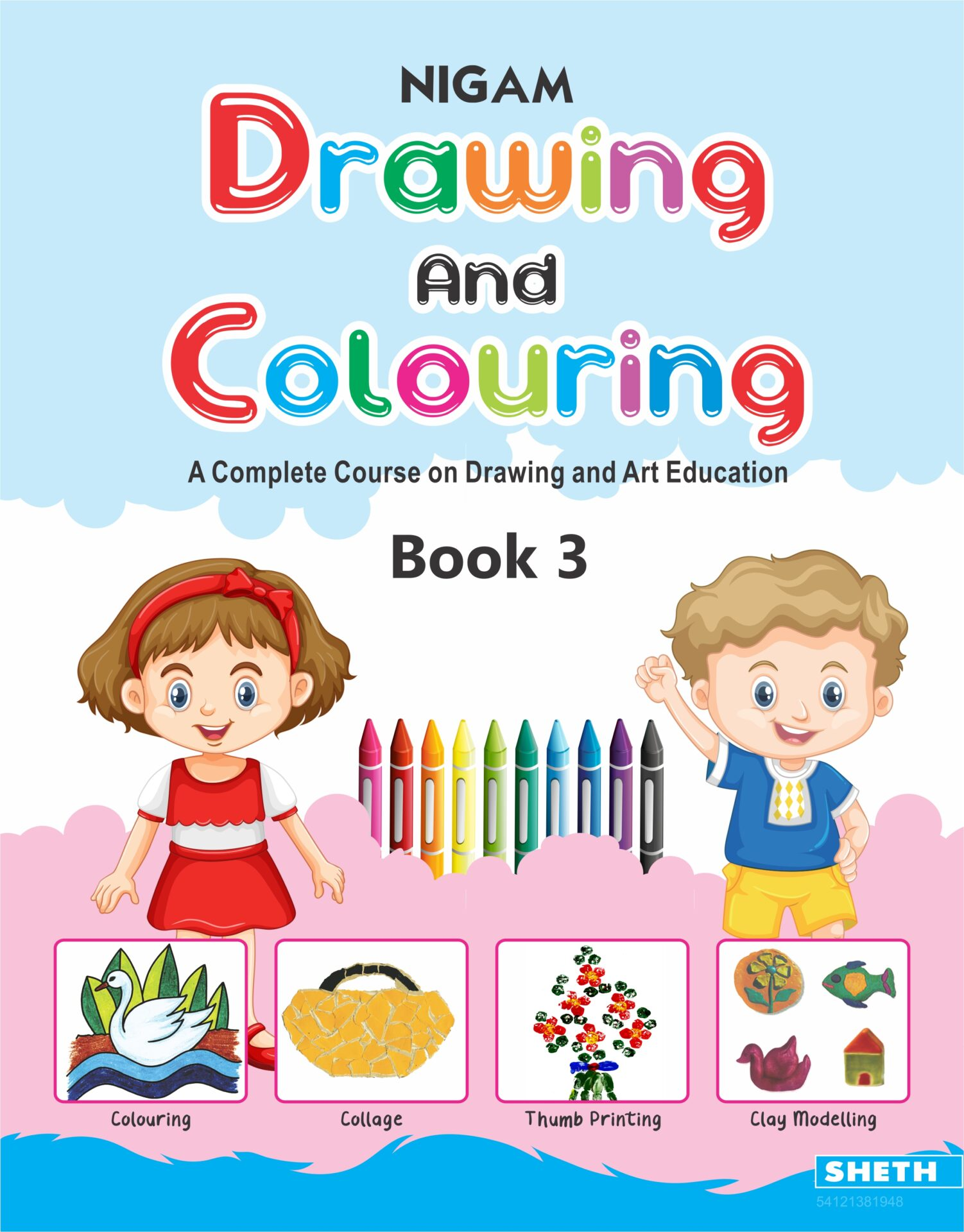 Nigam Drawing and Colouring Book 3 1