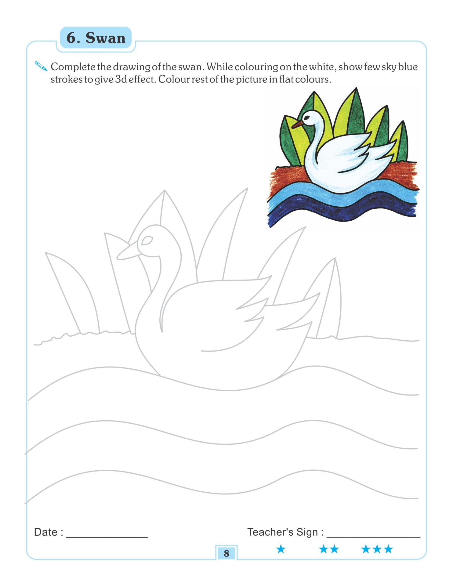 Nigam Drawing and Colouring Book 3 5