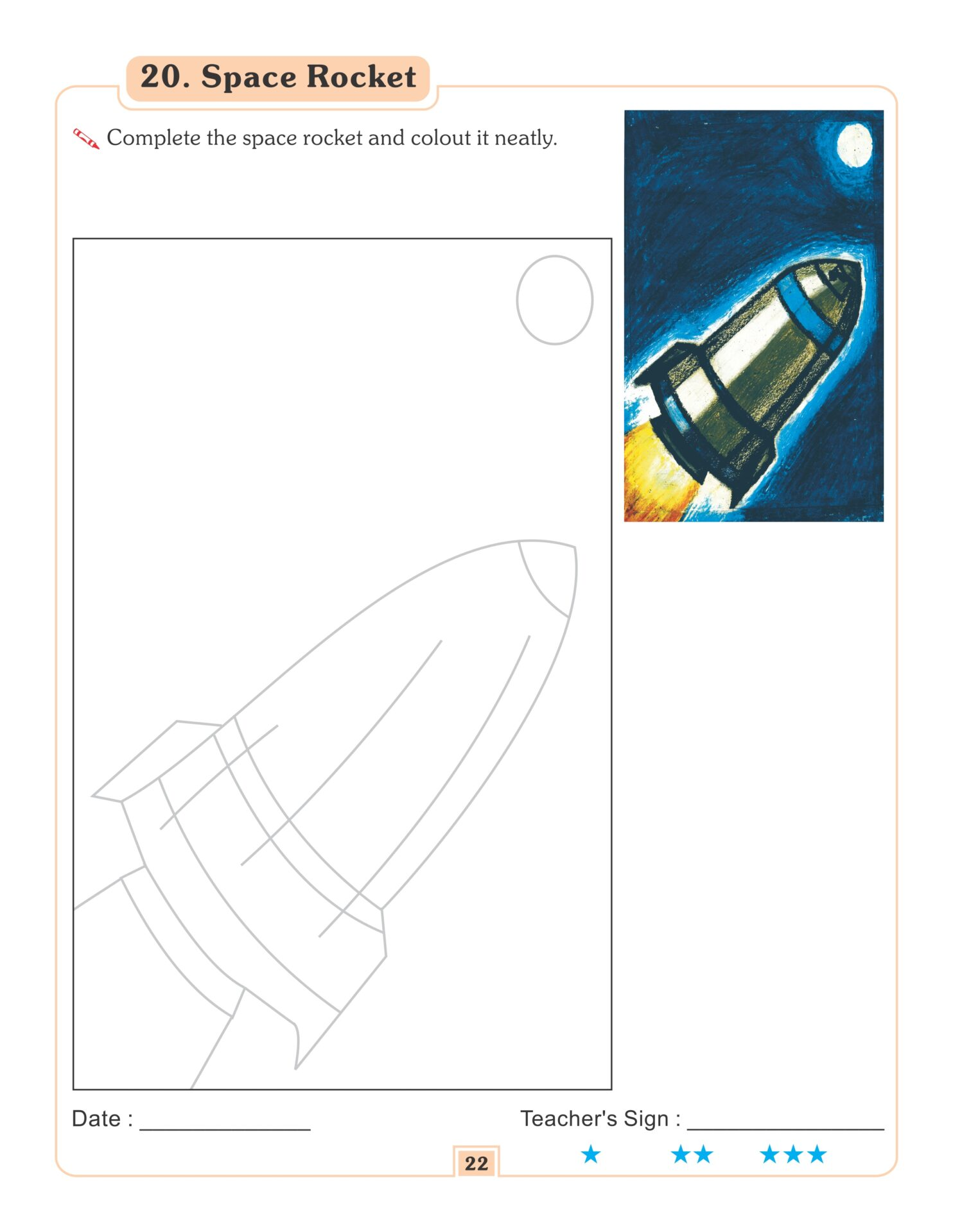 Nigam Drawing and Colouring Book 3 8