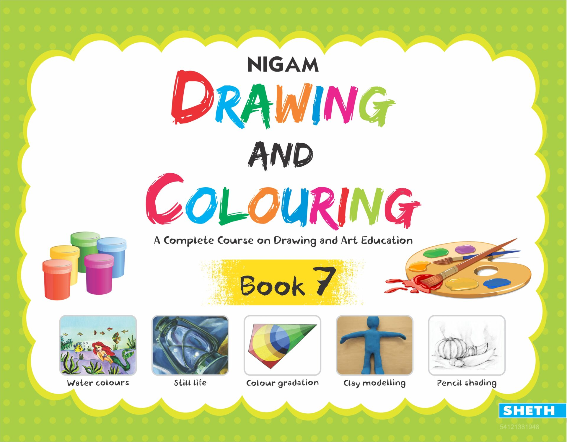 Nigam Drawing and Colouring Book 7 1