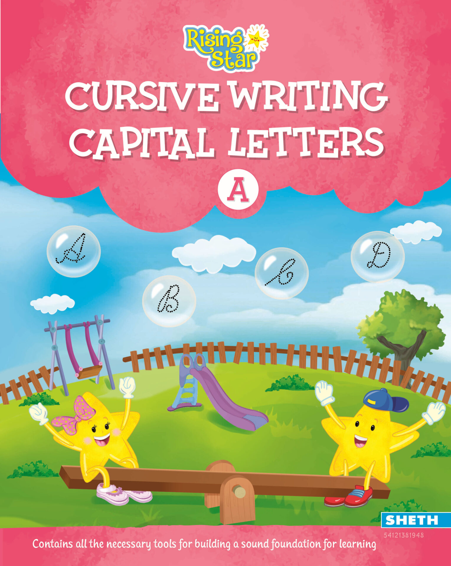 Rising Star Cursive Writing Capital Letters A 01 1
