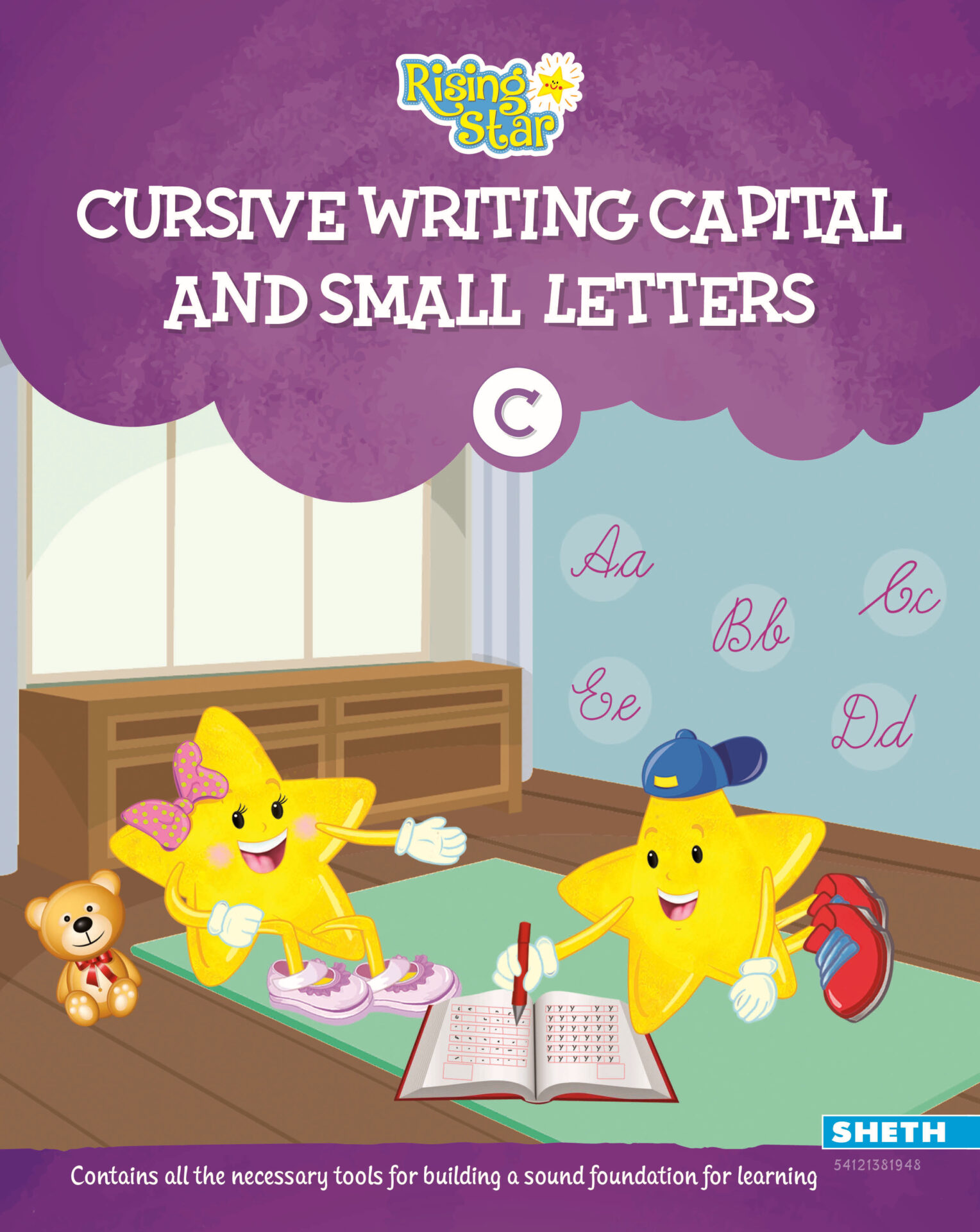 Rising Star Cursive Writing Capital and Small Letters C 1 1