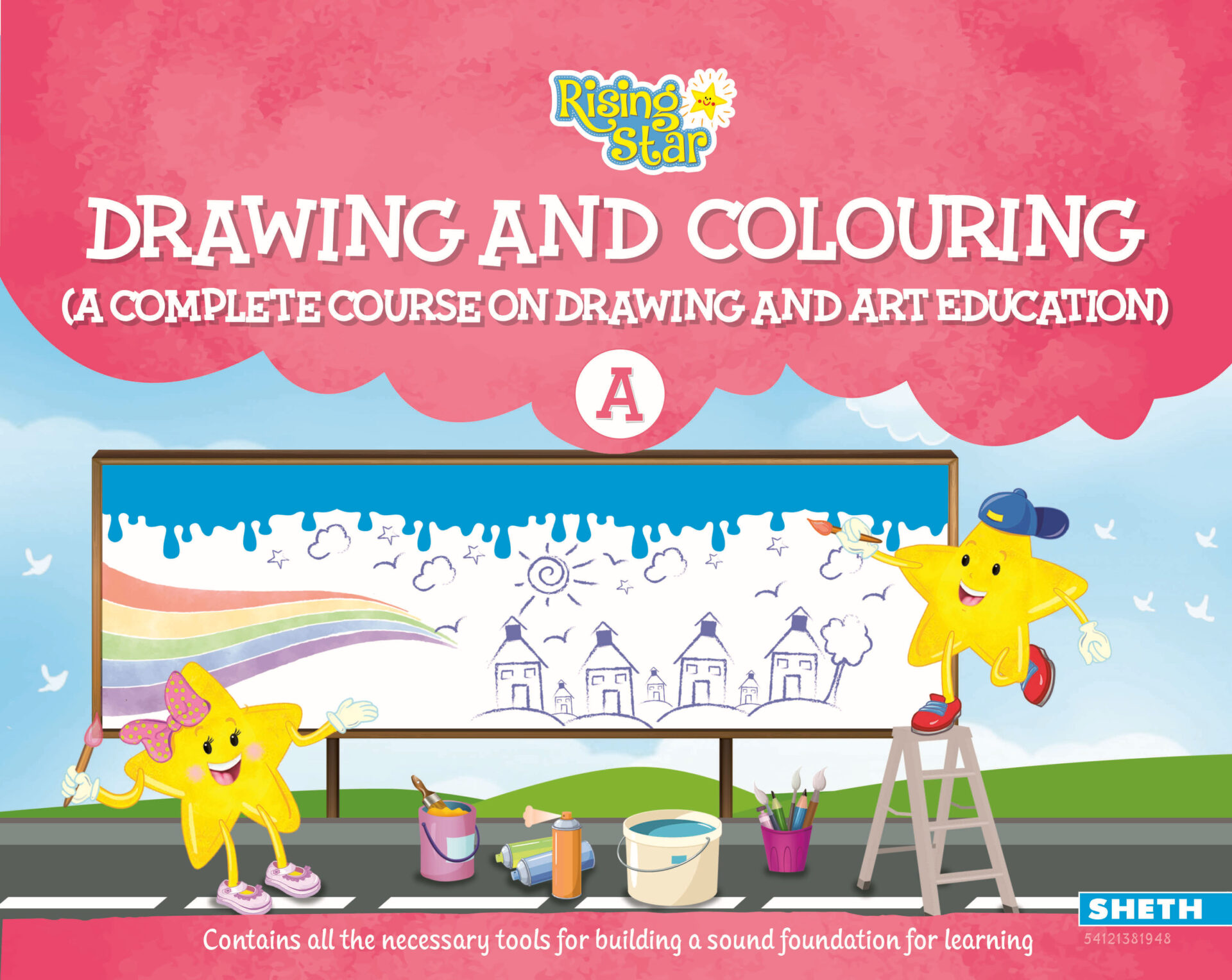 Rising Star Drawing and Colouring A 1 1