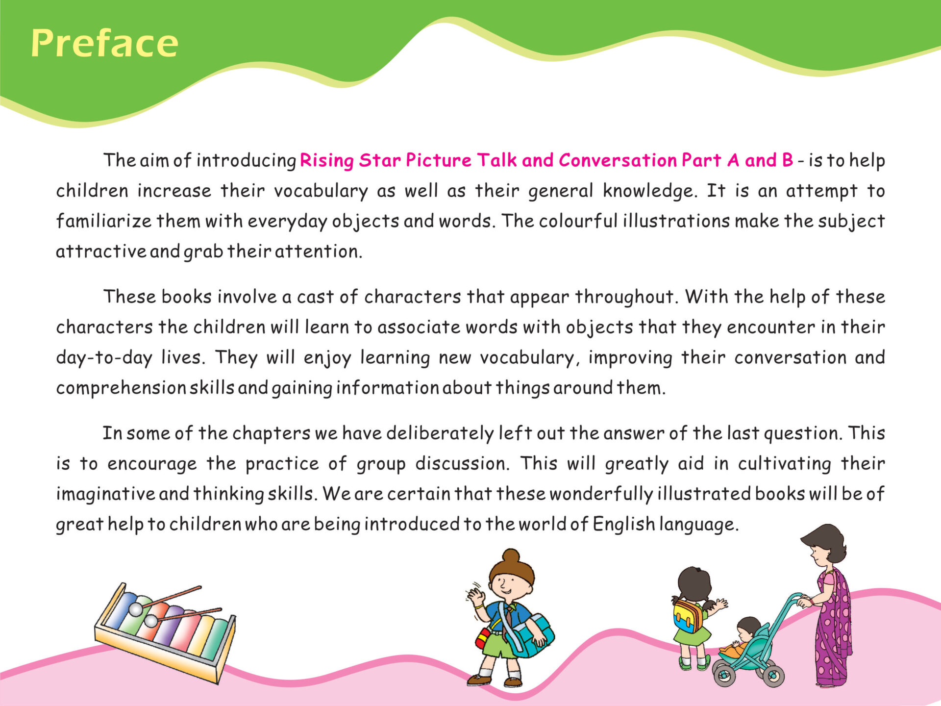 Rising Star Picture Talk and Conversation A 2 1