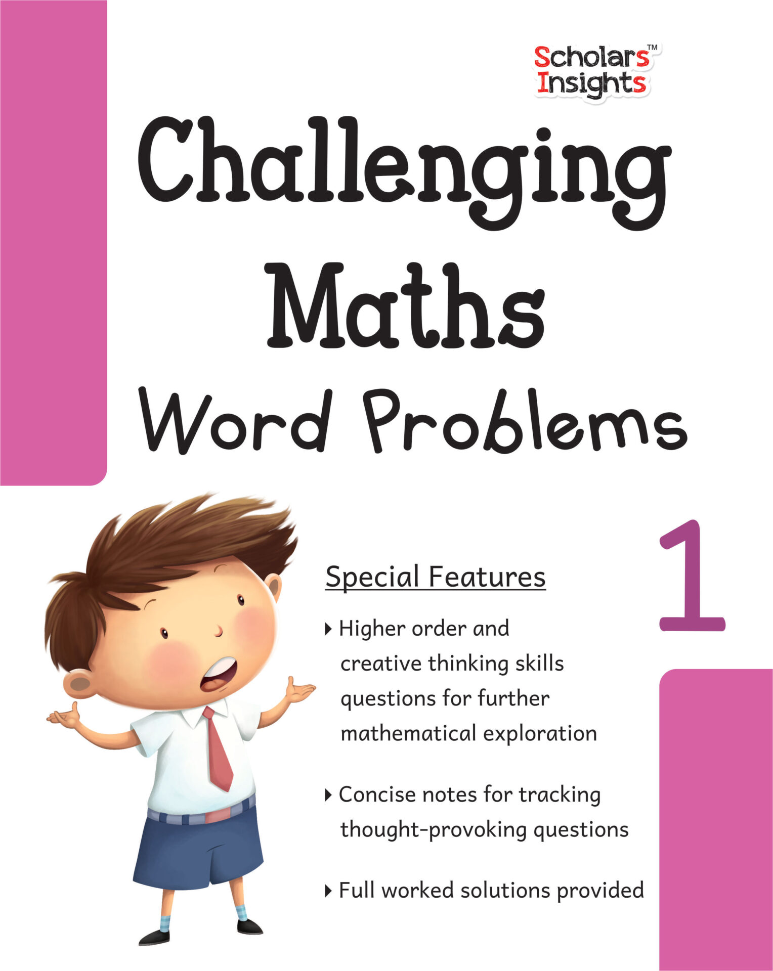 Scholars Insights Challenging Maths Word Problems Class 1 1 1