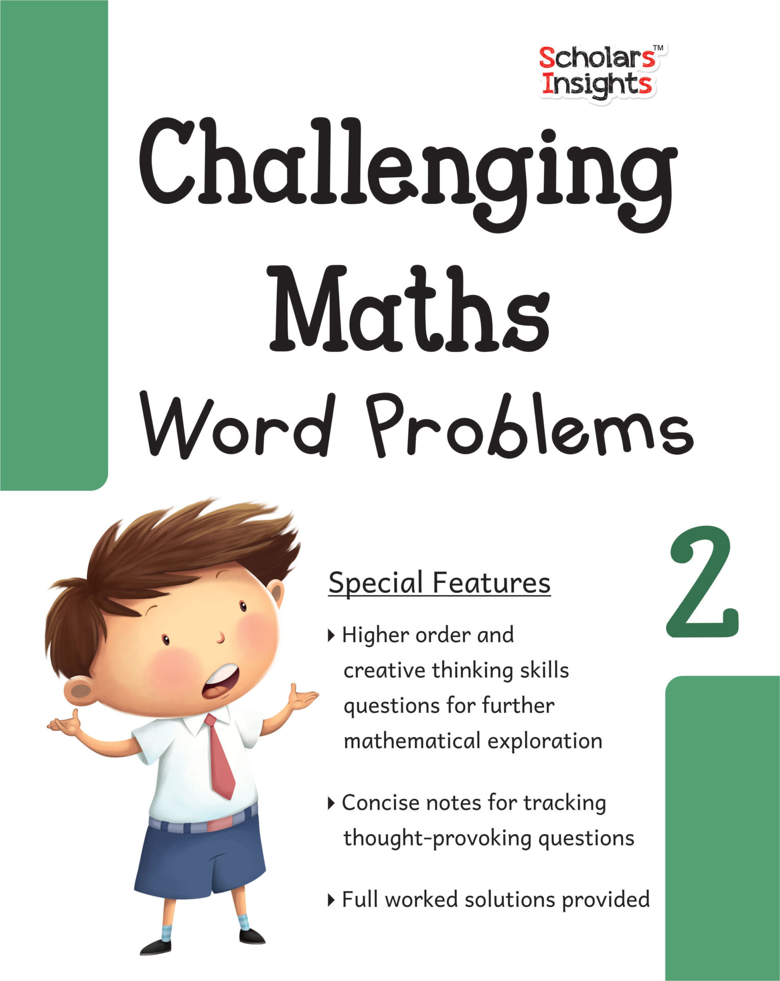 Scholars Insights Challenging Maths Word Problems Class 2 1 1