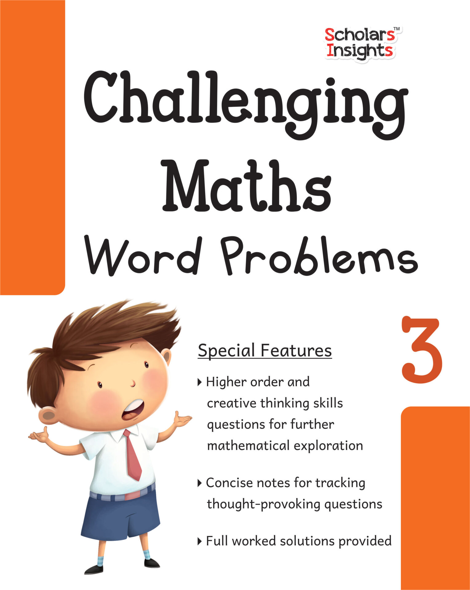 Scholars Insights Challenging Maths Word Problems Class 3 1 1