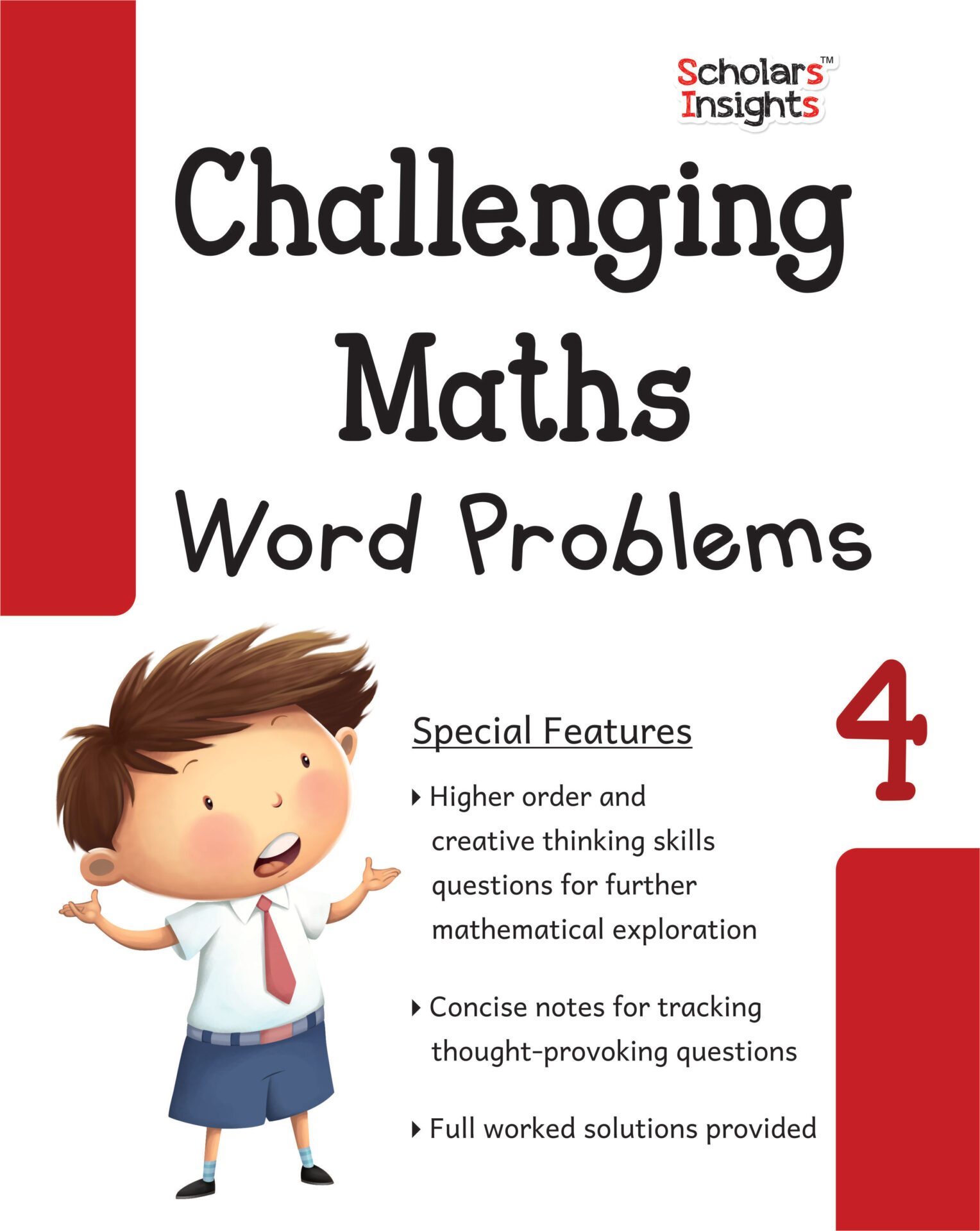 Scholars Insights Challenging Maths Word Problems Class 4 1 1