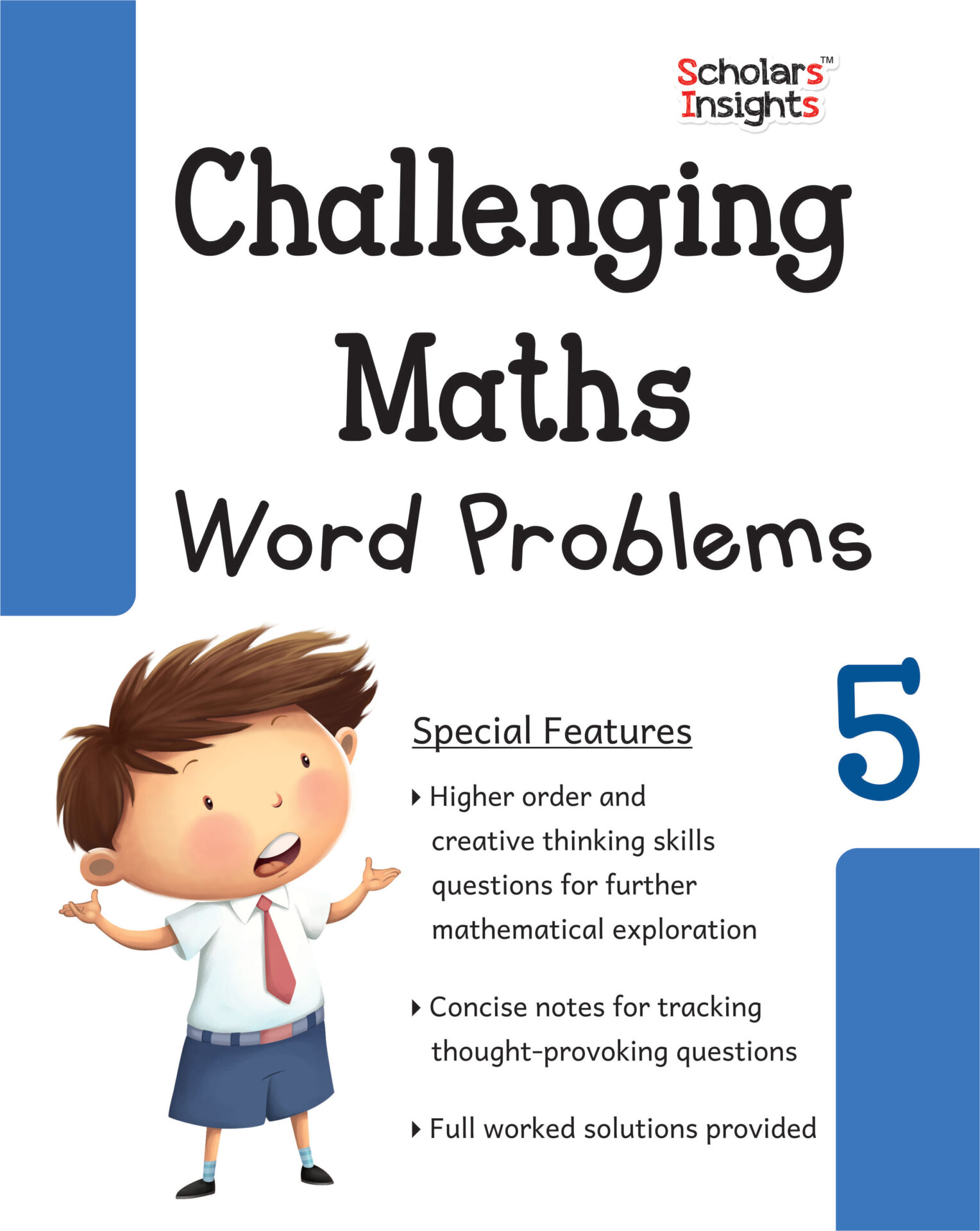 Scholars Insights Challenging Maths Word Problems Class 5 1 1