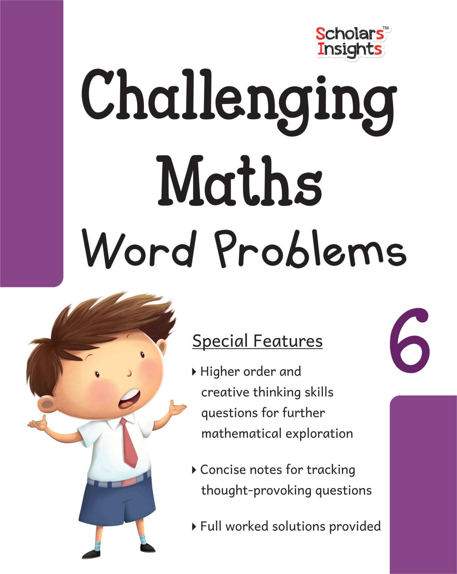 Scholars Insights Challenging Maths Word Problems Class 6 1 1
