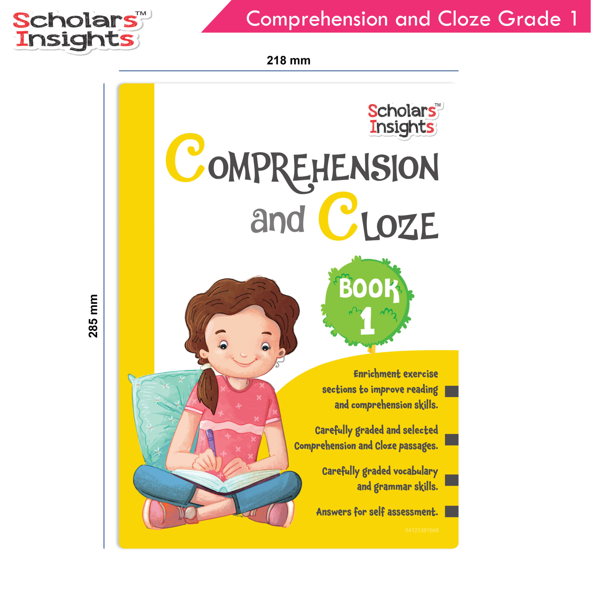 Scholars Insights Comprehension and Cloze Grade 1 2 1