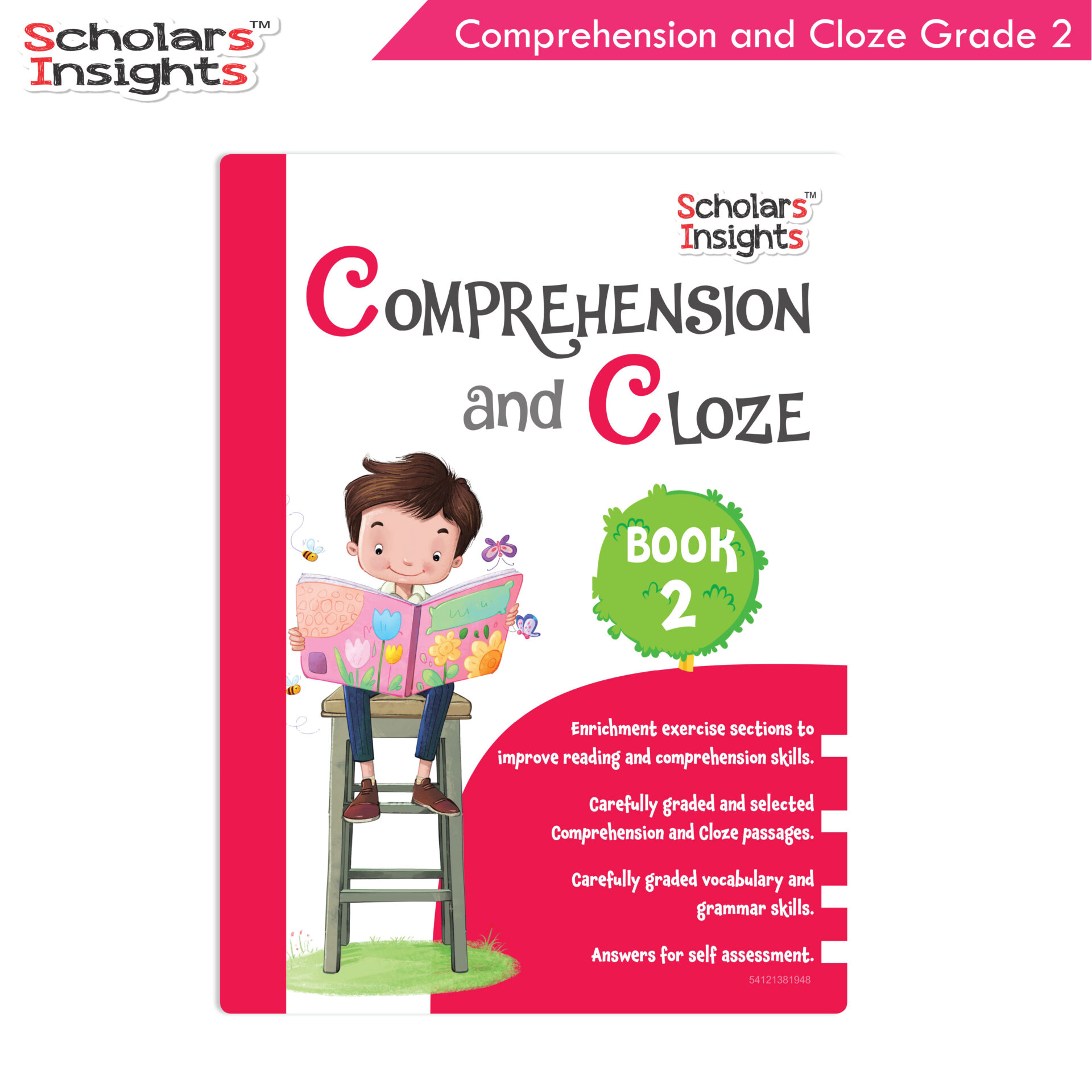 Scholars Insights Comprehension and Cloze Grade 2 1 1