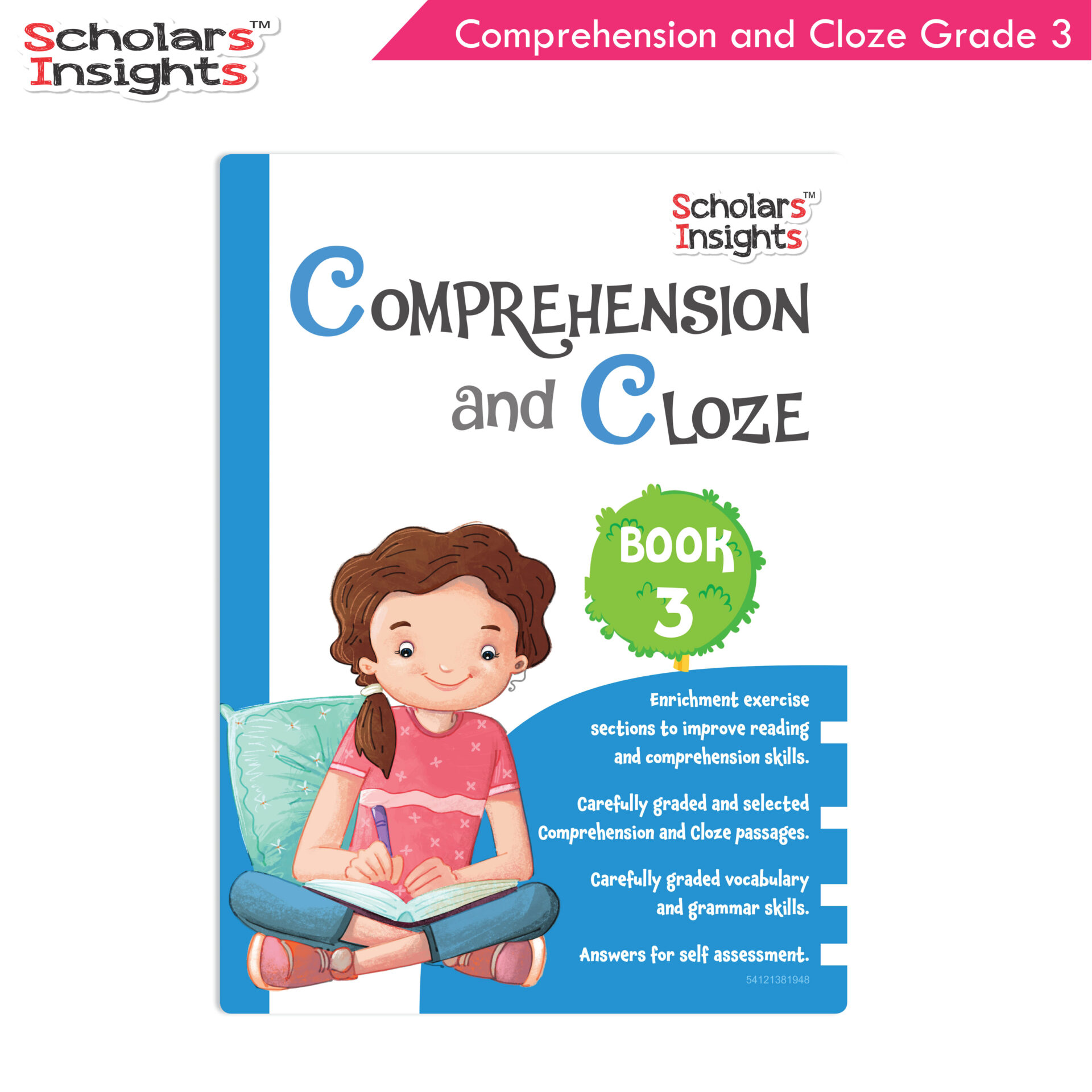 Scholars Insights Comprehension and Cloze Grade 3 1 1