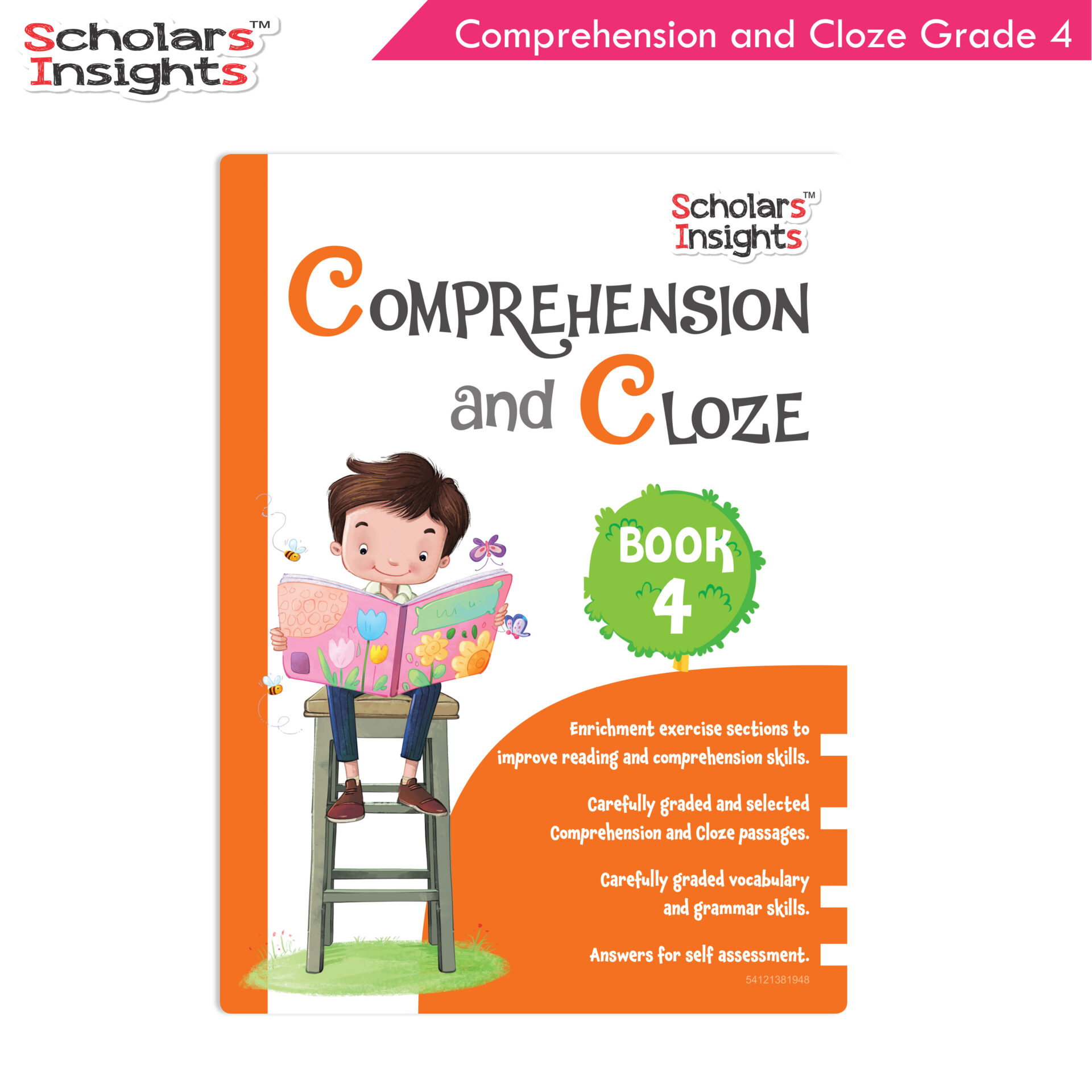 Scholars Insights Comprehension and Cloze Grade 4 1 1