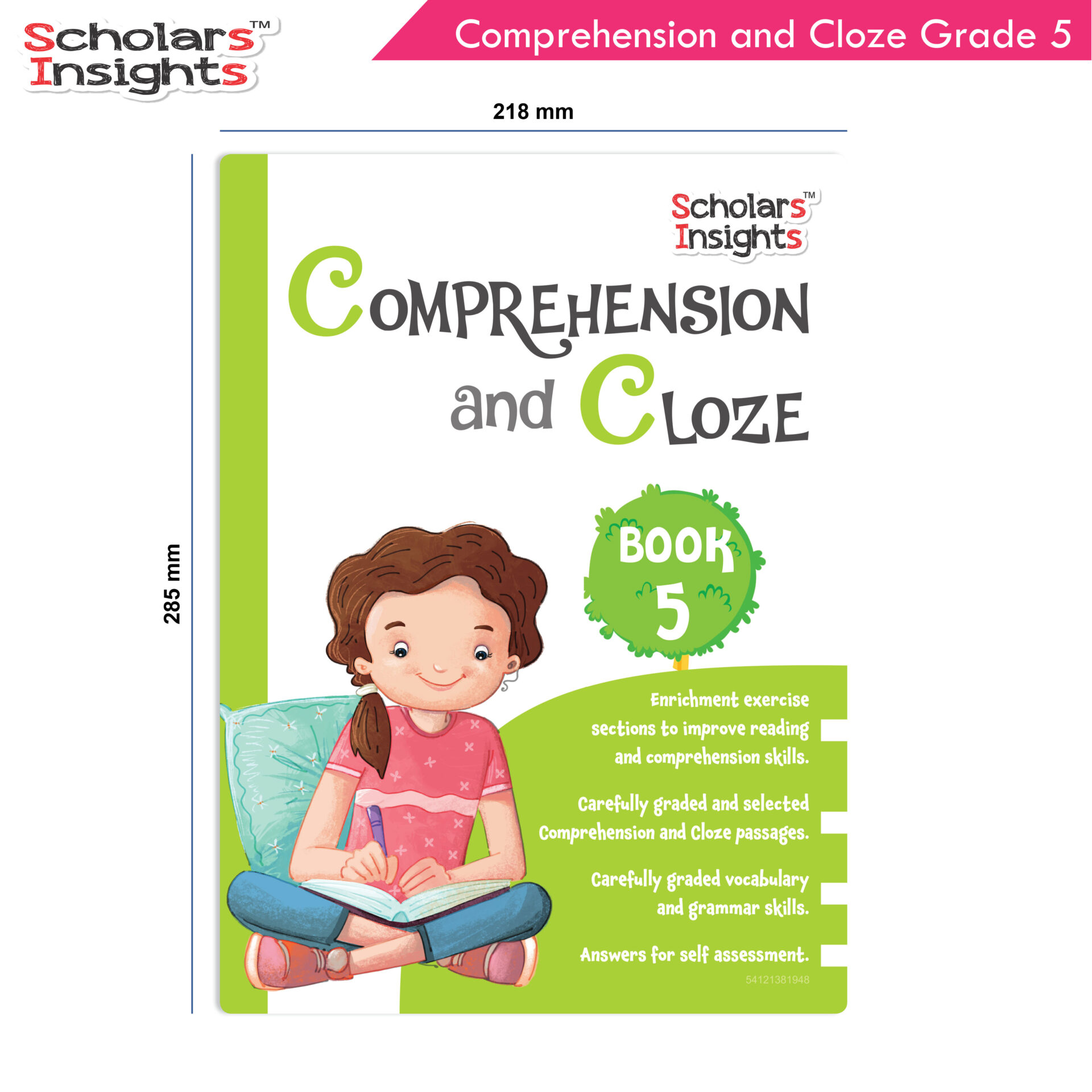 Scholars Insights Comprehension and Cloze Grade 5 2 1