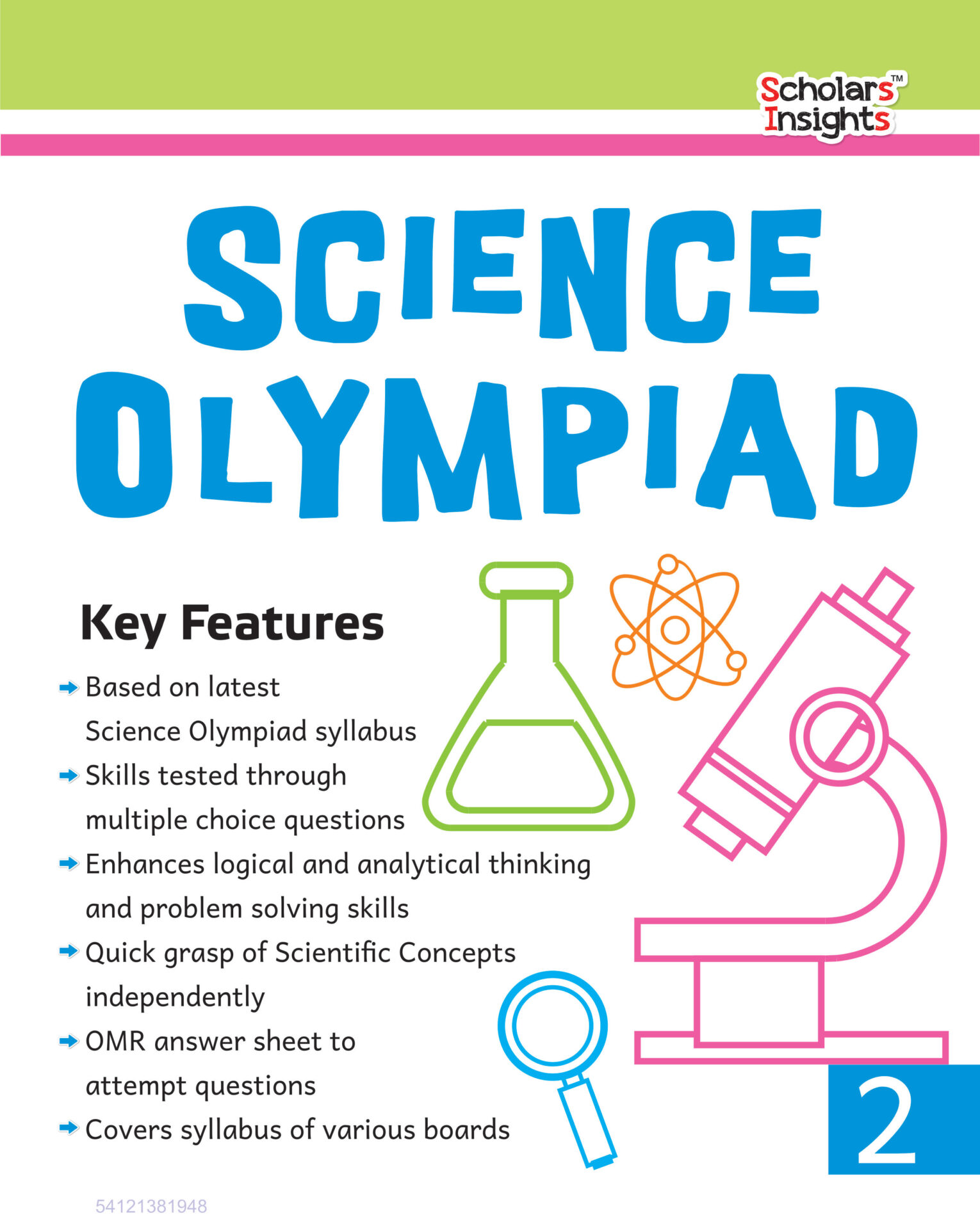 Scholars Insights Science Olympiad Class 2 1 1