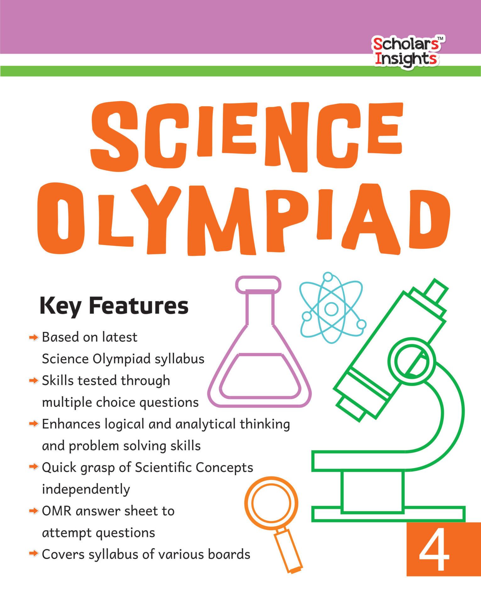 Scholars Insights Science Olympiad Class 4 1 1