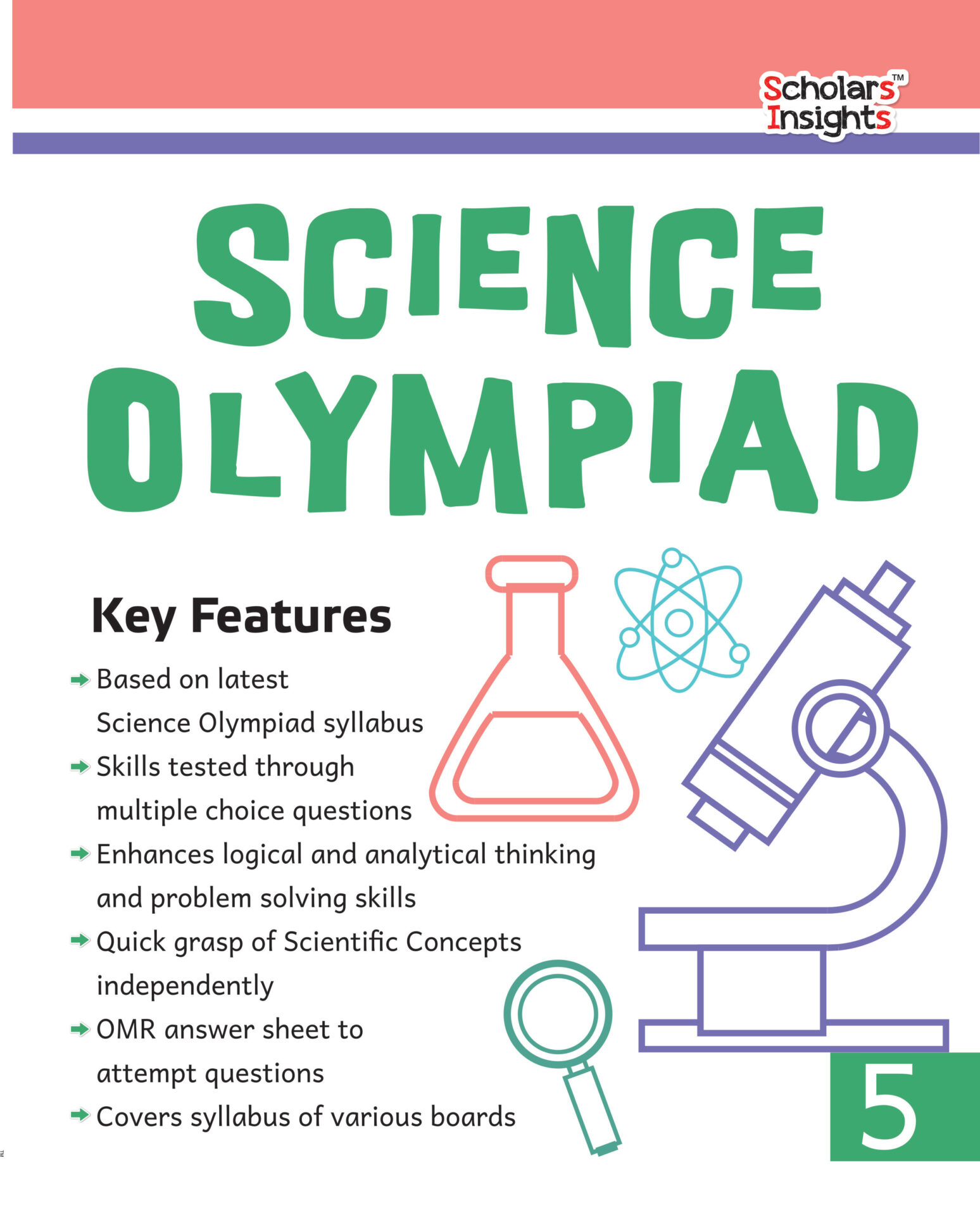 Scholars Insights Science Olympiad Class 5 1 1
